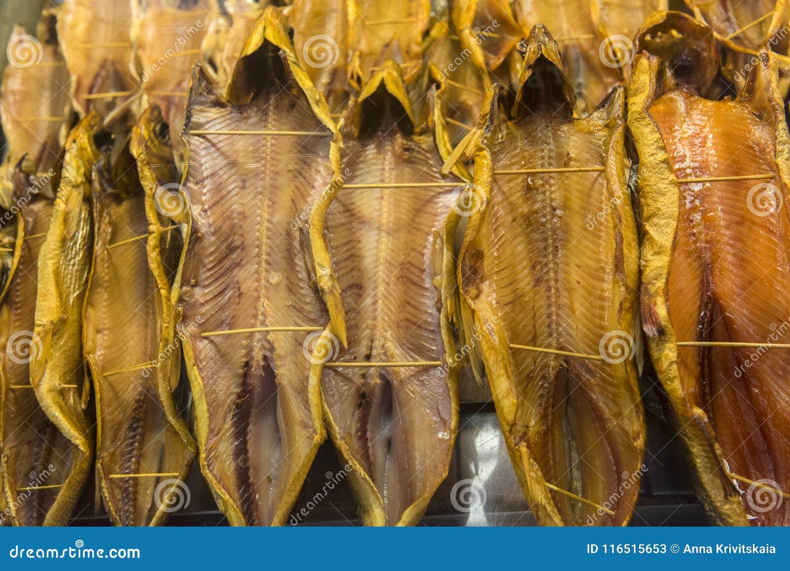 Omul, dymiąca ryba baikal jeziora