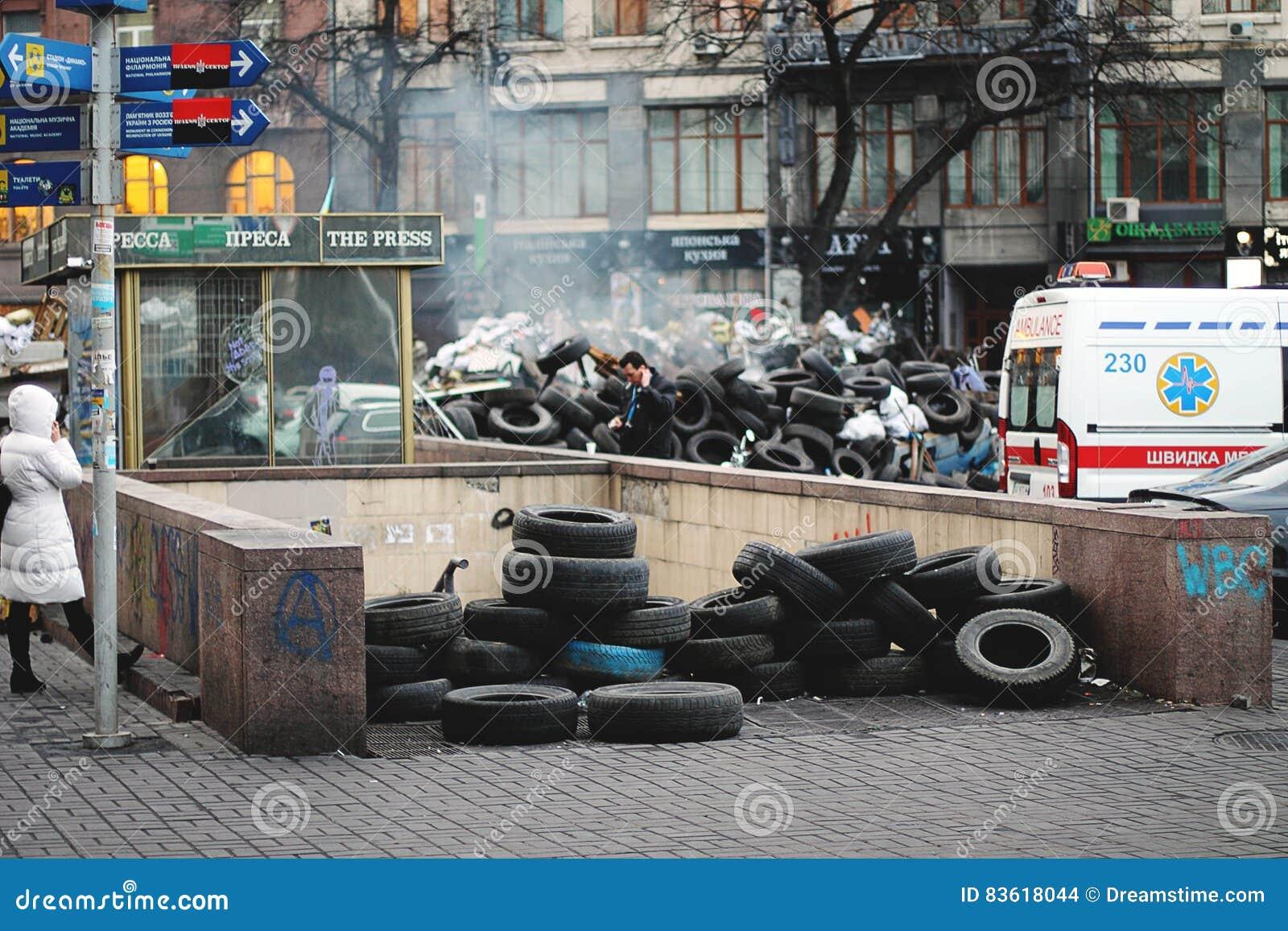 Onafhankelijkheid: de waardigheid van de revolutie Kiev 2013