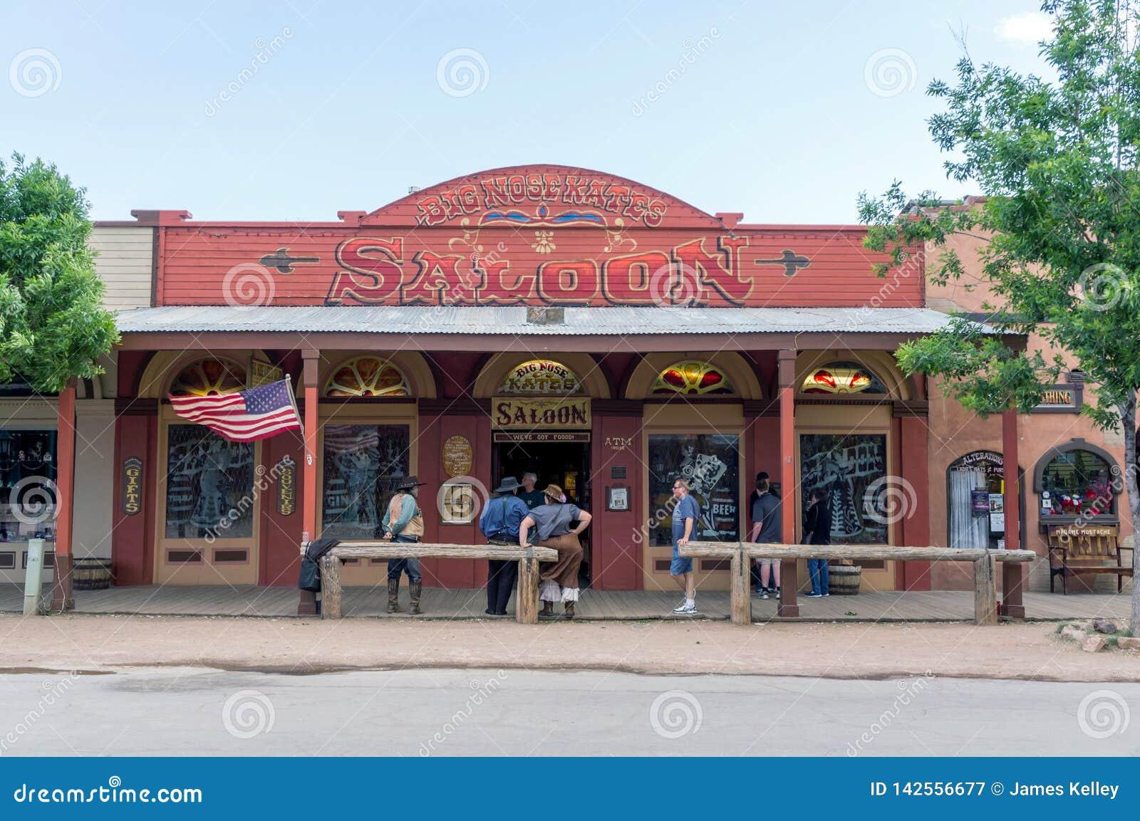 Wild West Saloon Tombstone Arizona Editorial Photography Image Of Historic Grand 142556677