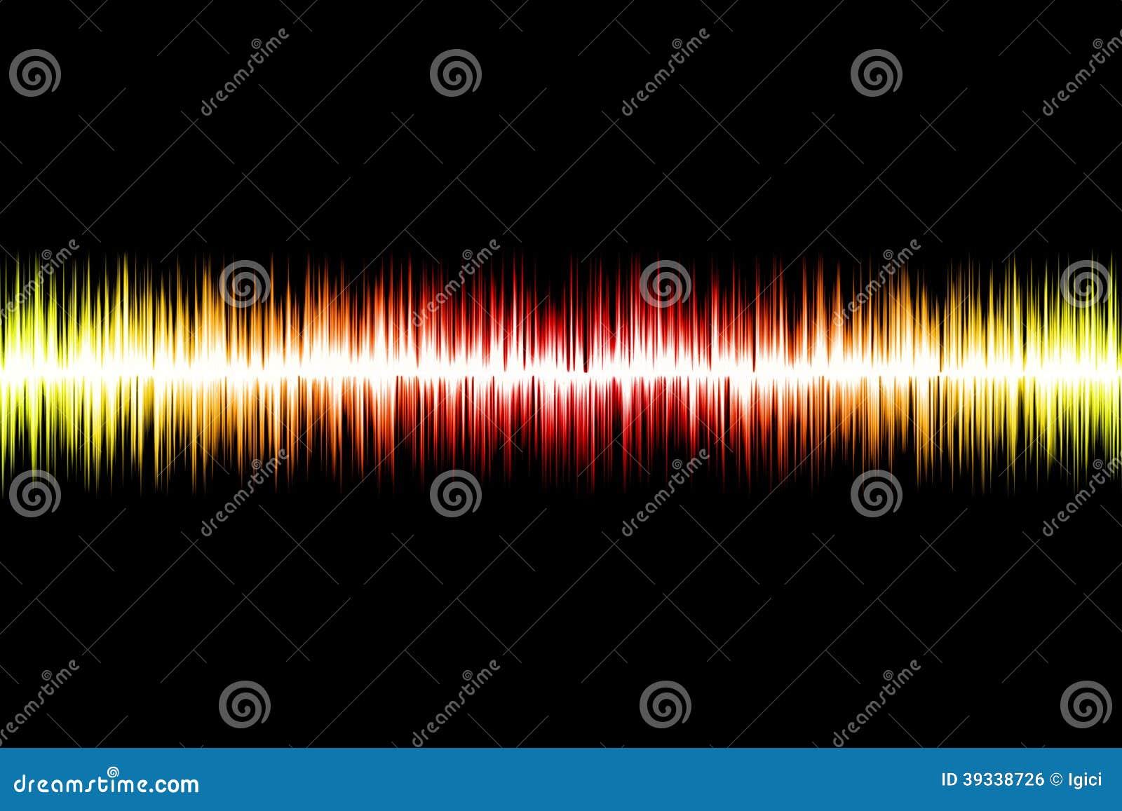 Onda acústica abstracta