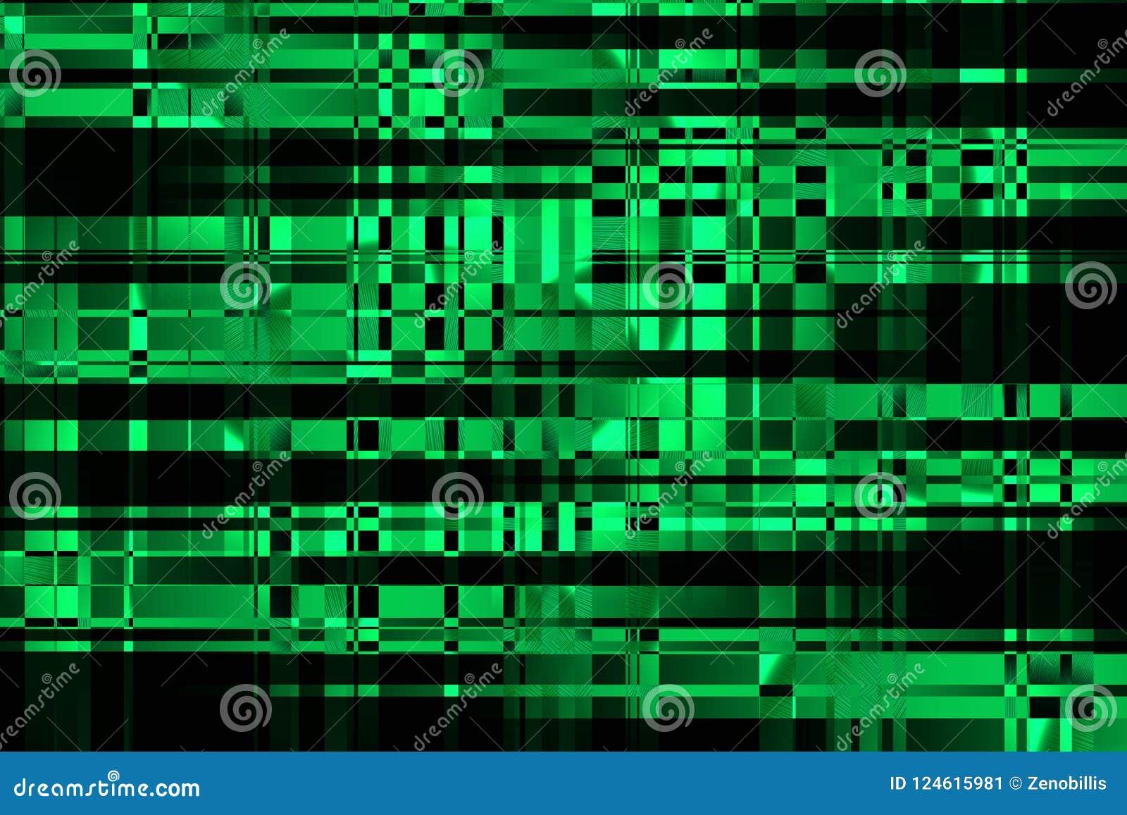 Onda do efeito do fluxo Cyberspace e redes informáticas Dados grandes que proceccing Ilustração moderna do pulso aleatório