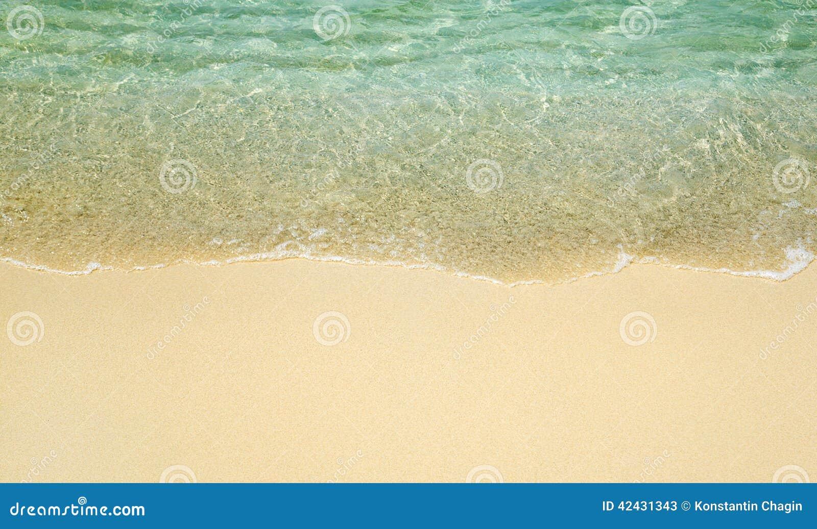 Onda en la playa