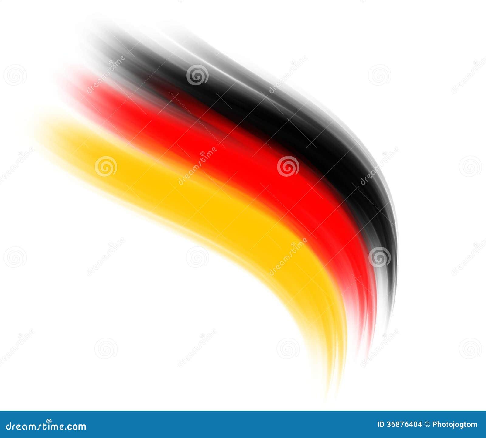Download Onda tedesca illustrazione di stock. Illustrazione di colore - 36876404