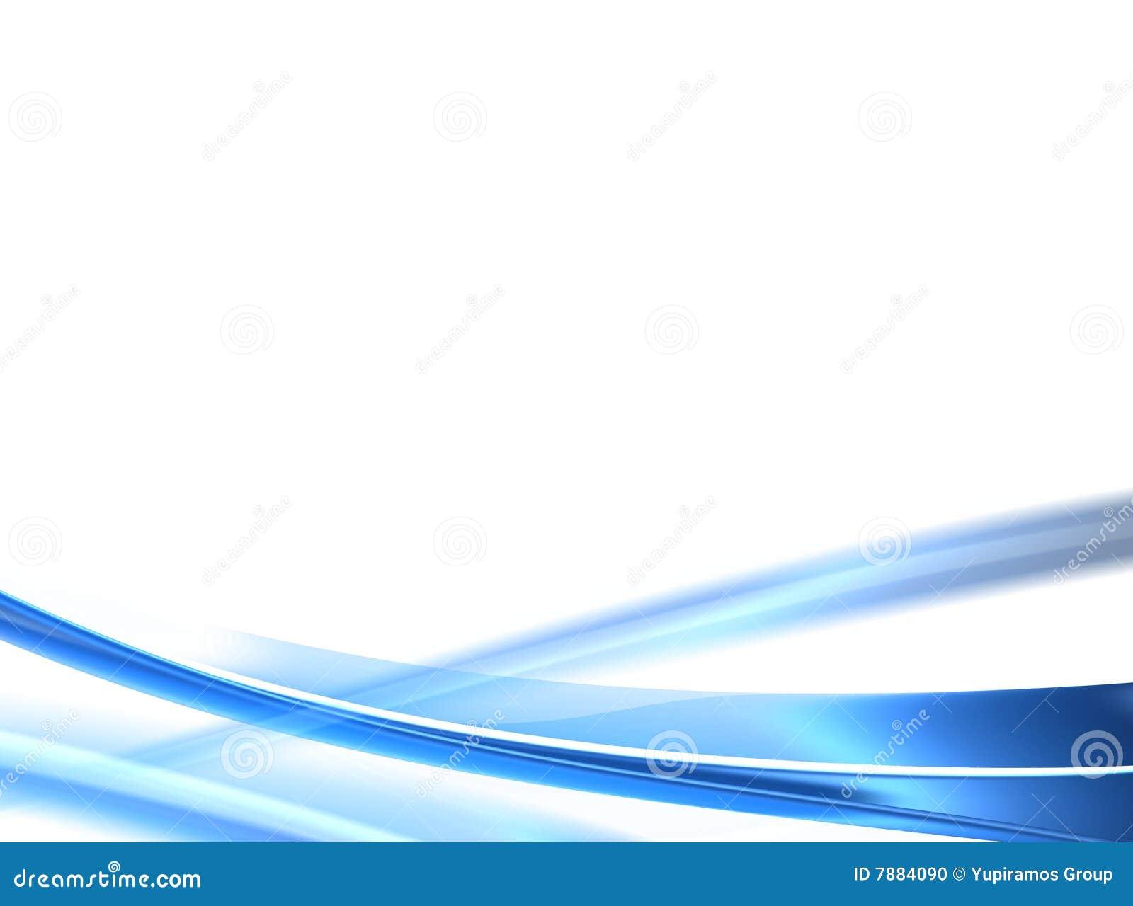 Ondas Azules Stock De Ilustración. Ilustración De Blanco