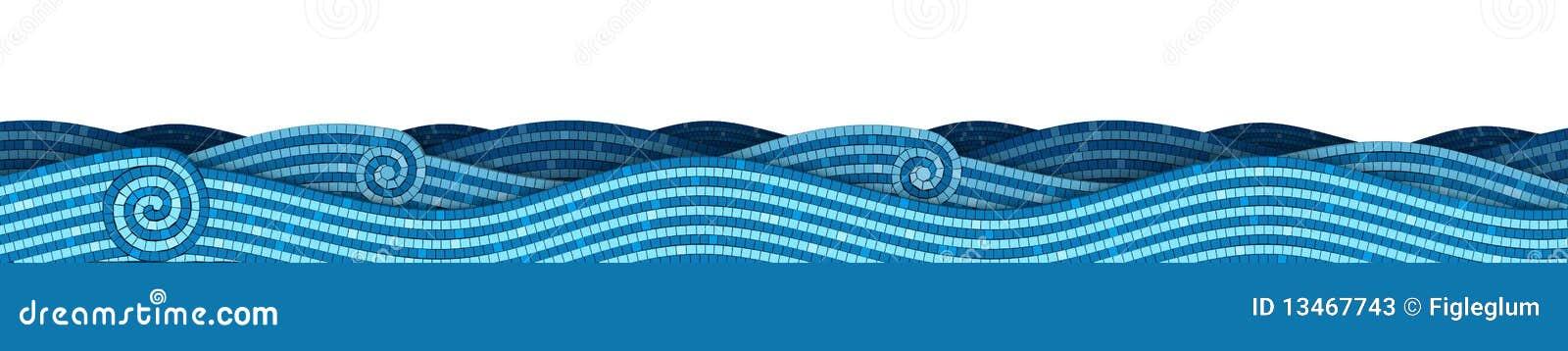 Ondas del mosaico