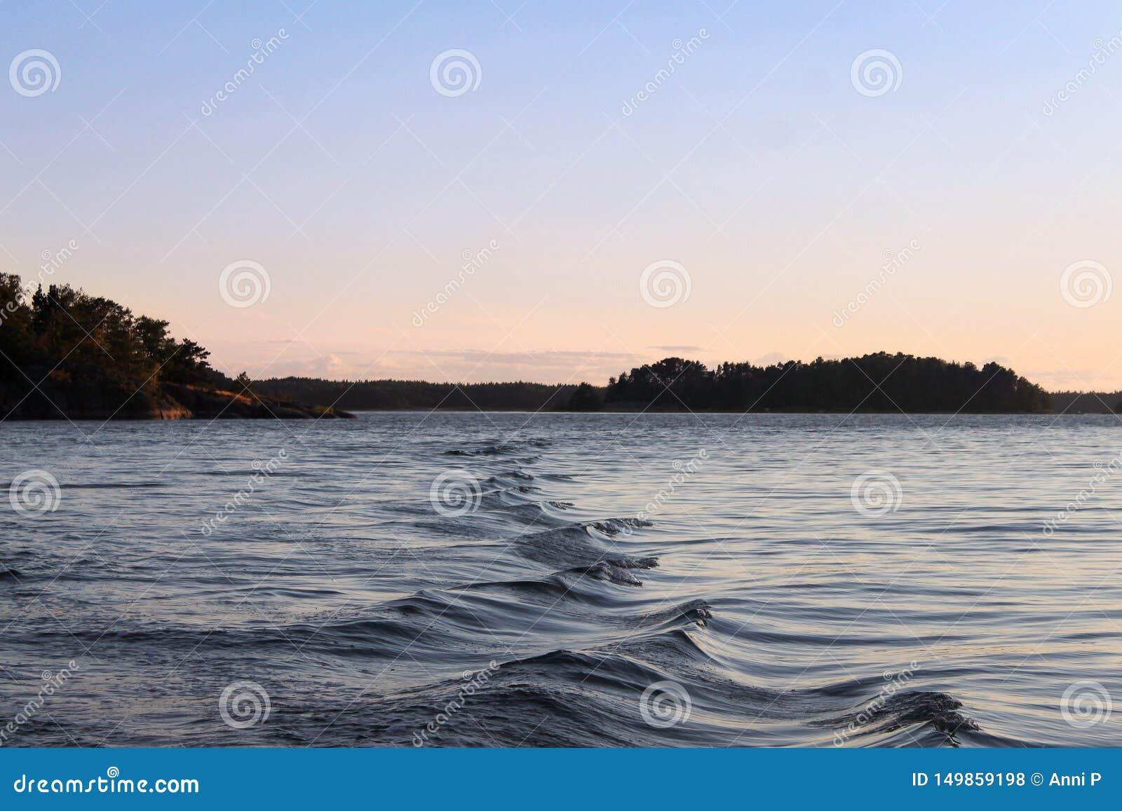 Ondas en el mar