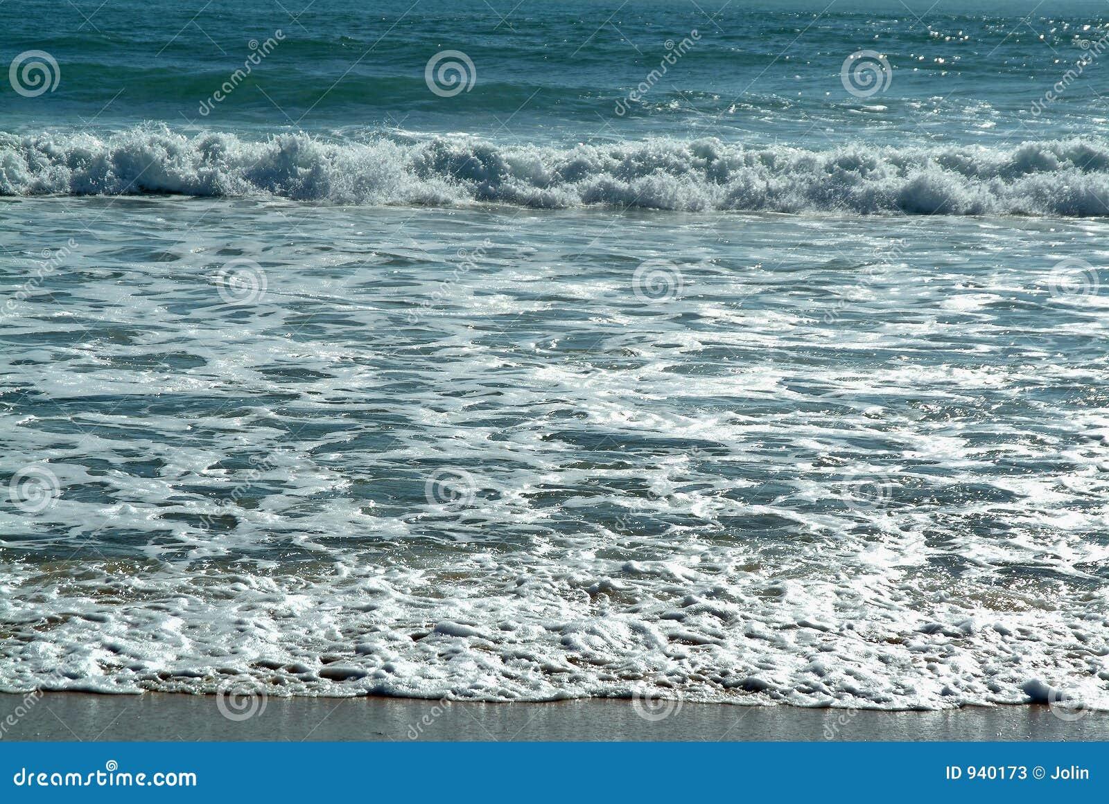 Ondas na praia
