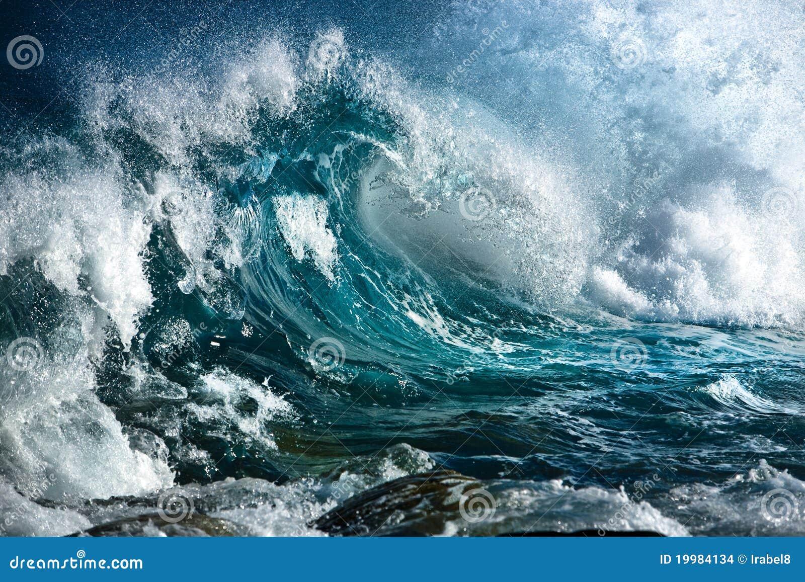 Onde d océan