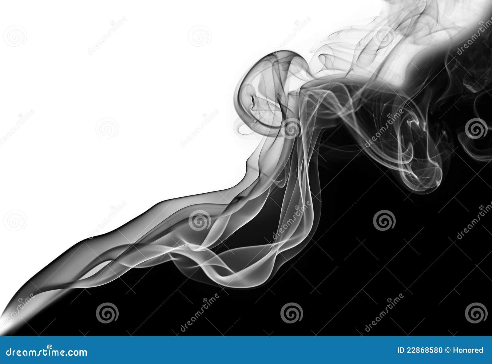 Onde diagonale abstraite de fumée