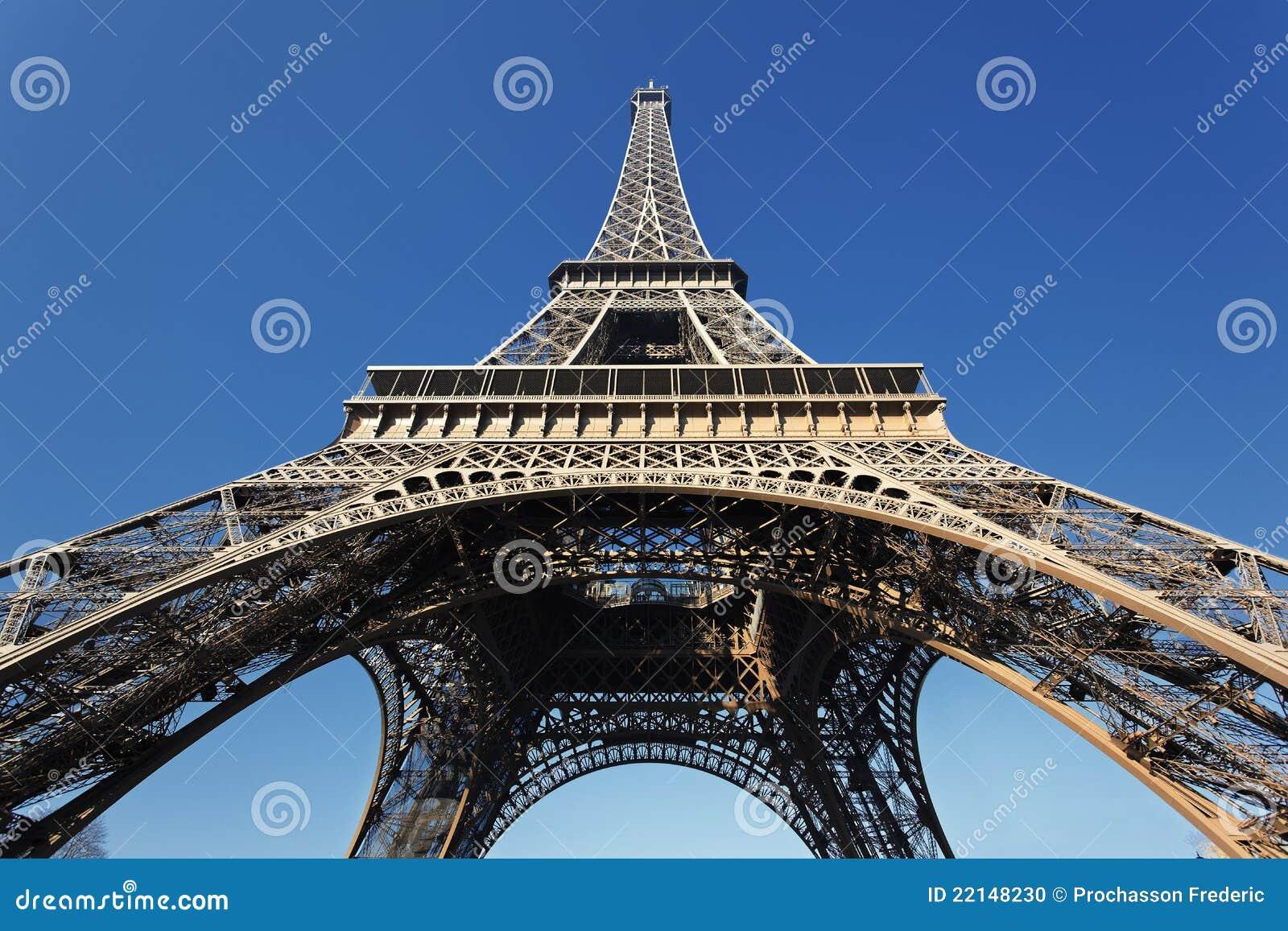 Onder de Toren van Eiffel