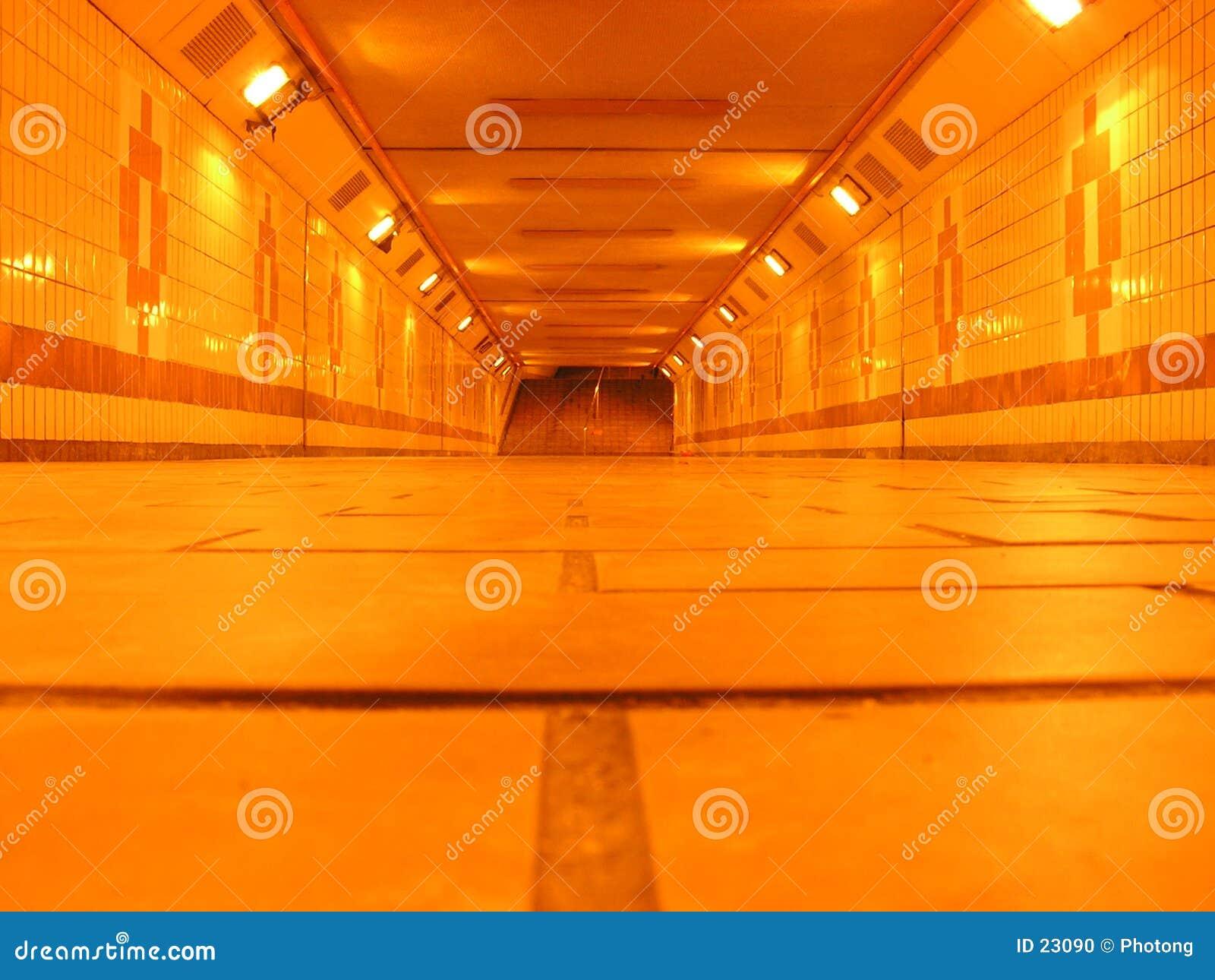 Ondergrondse tunnel