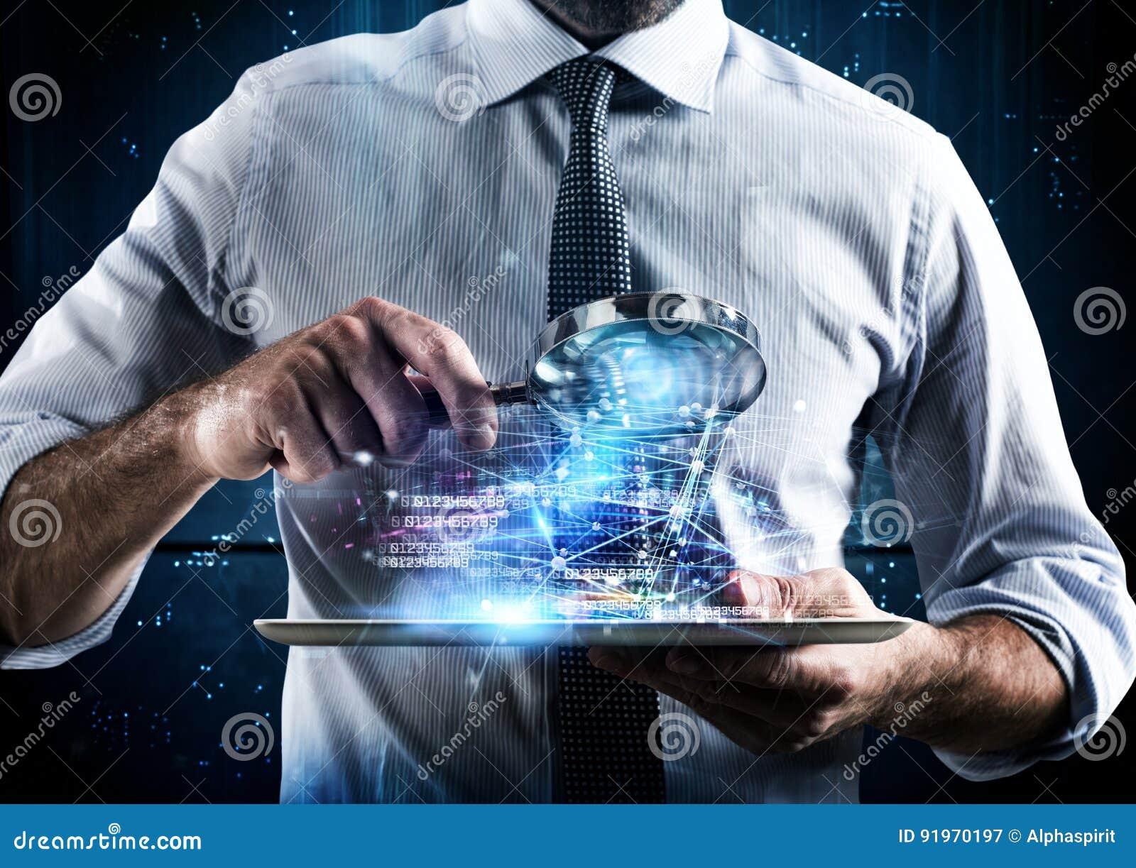 Onderzoek een computertablet