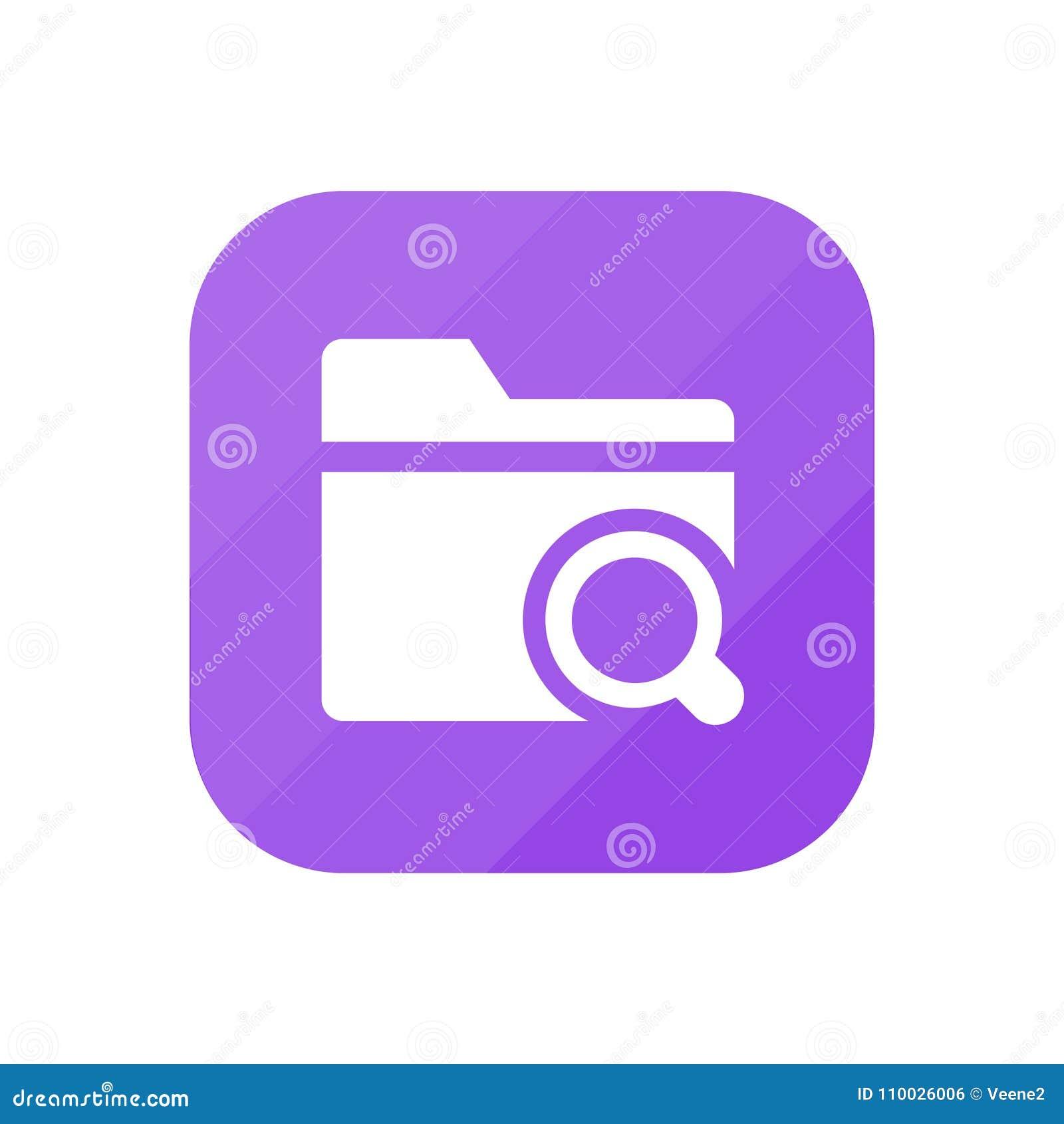 Onderzoeksomslag - App Pictogram