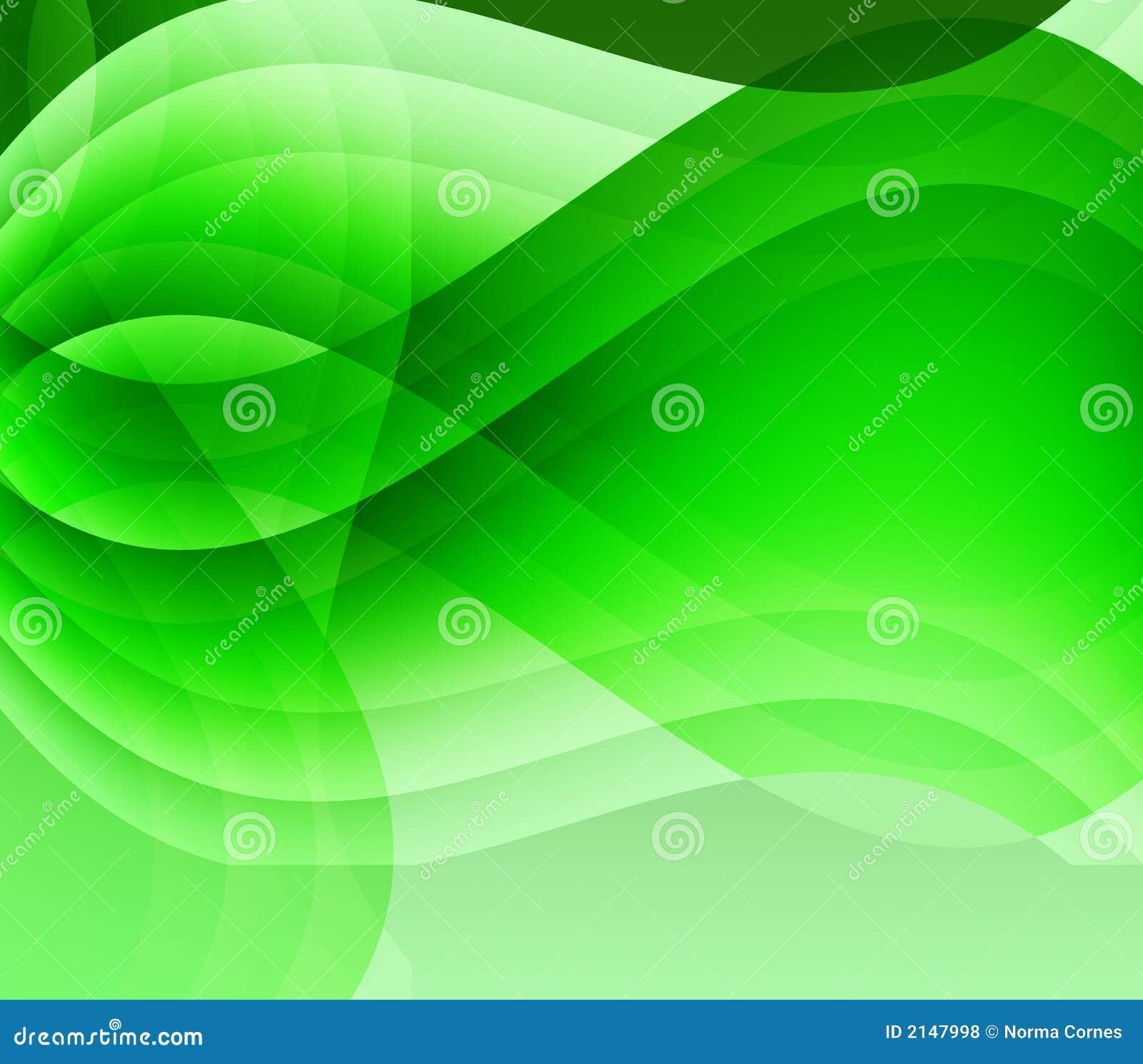 Ondes vertes et lumière