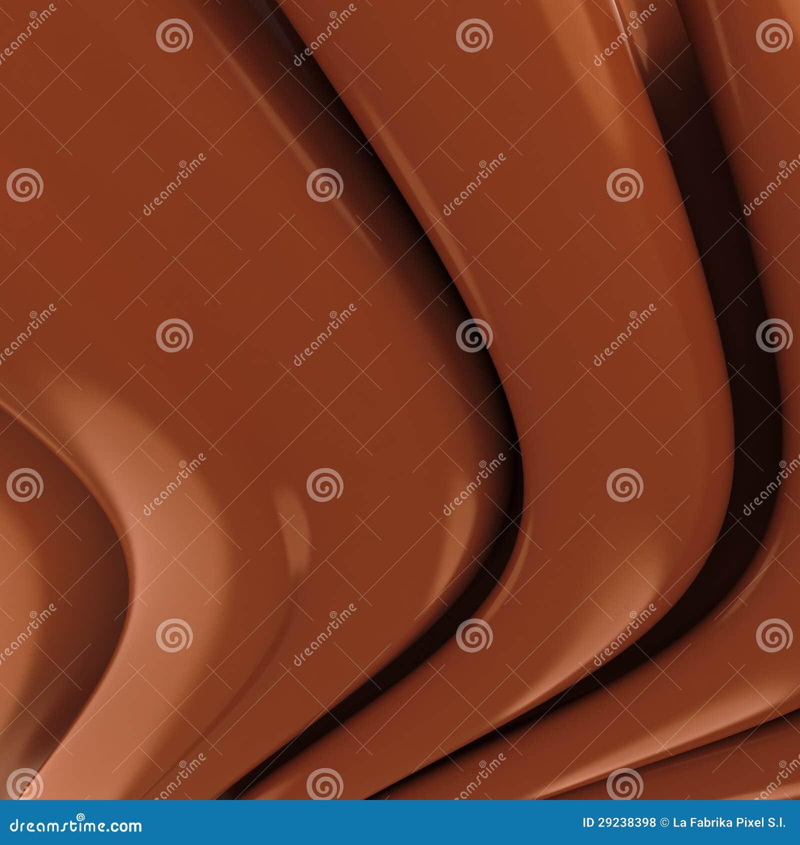 Download Ondinhas do chocolate ilustração stock. Ilustração de doce - 29238398
