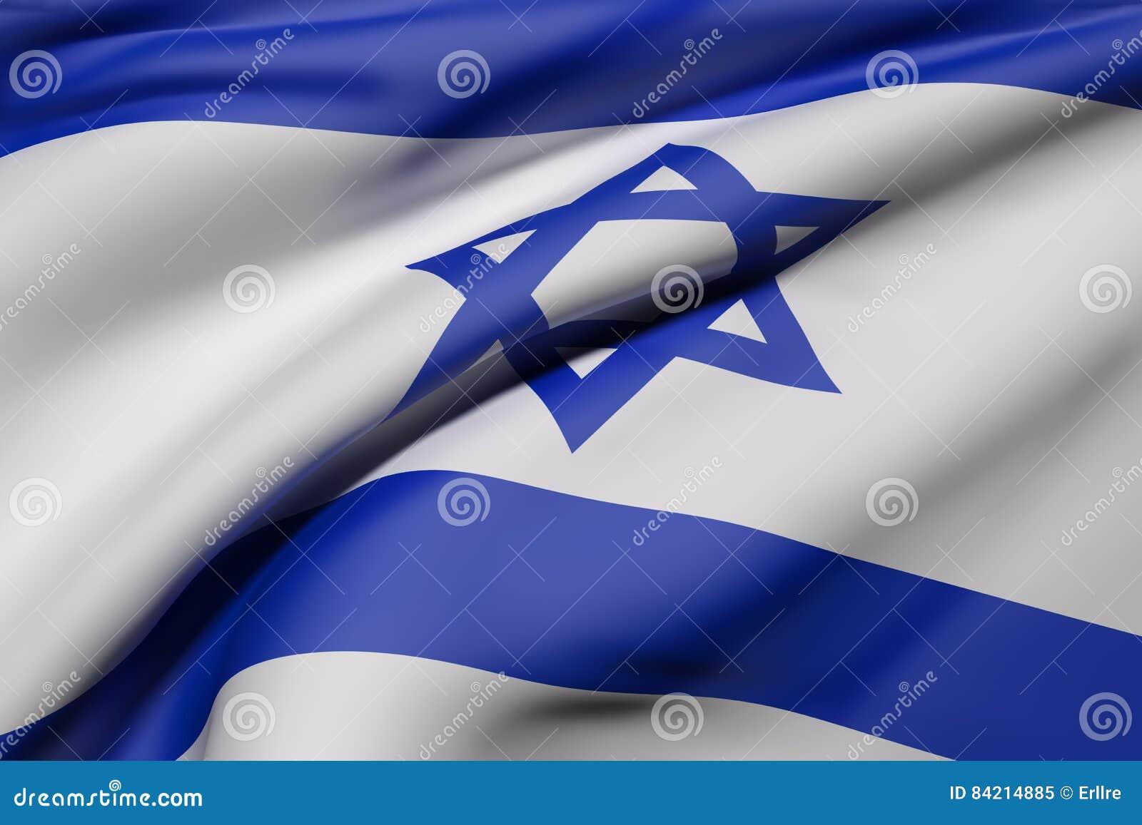 Ondulação de Israel Flag
