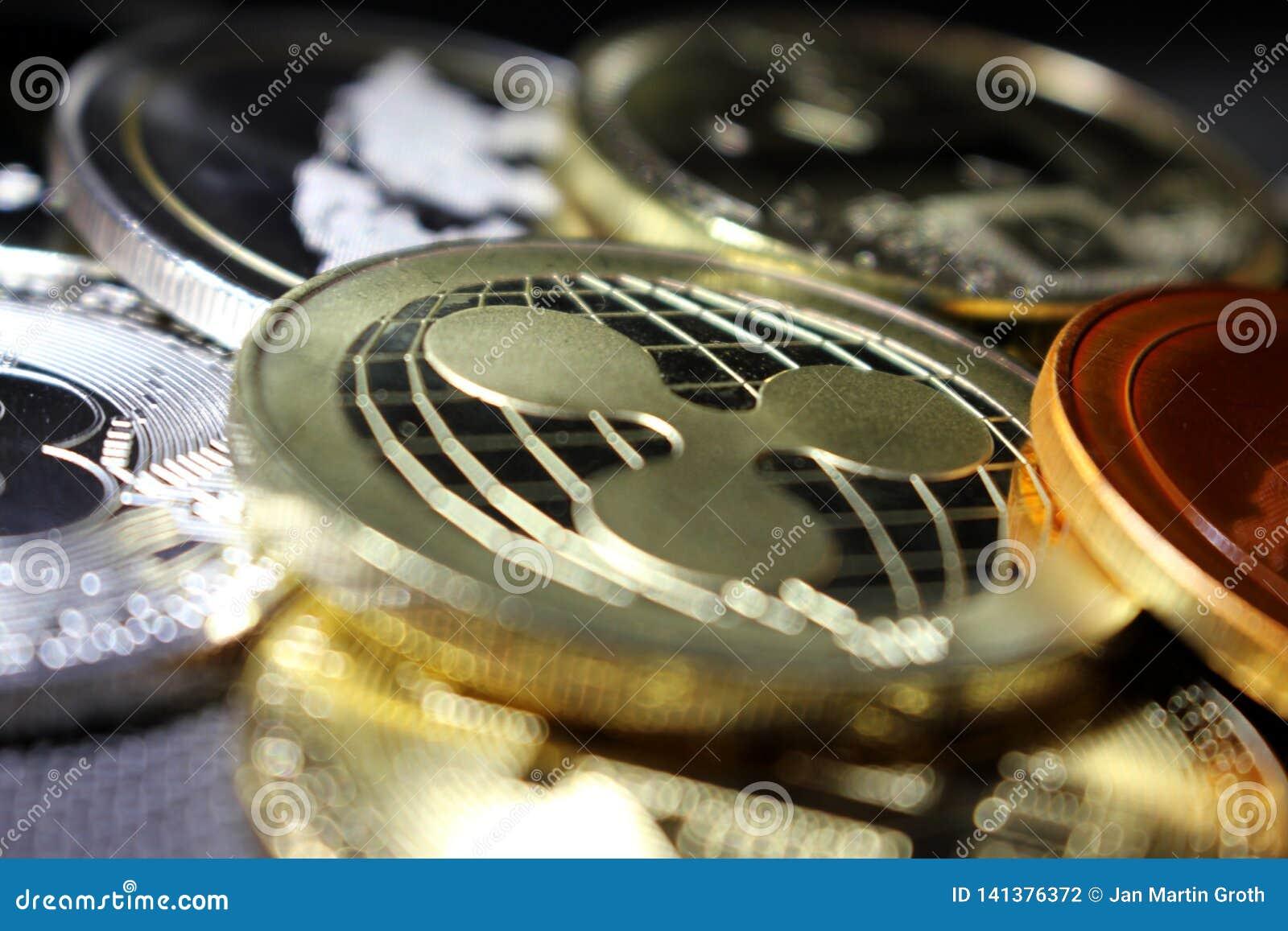 Ondulación - un nuevo cryptocurrency que revoluciona el pago digital - moneda con otras monedas crypto