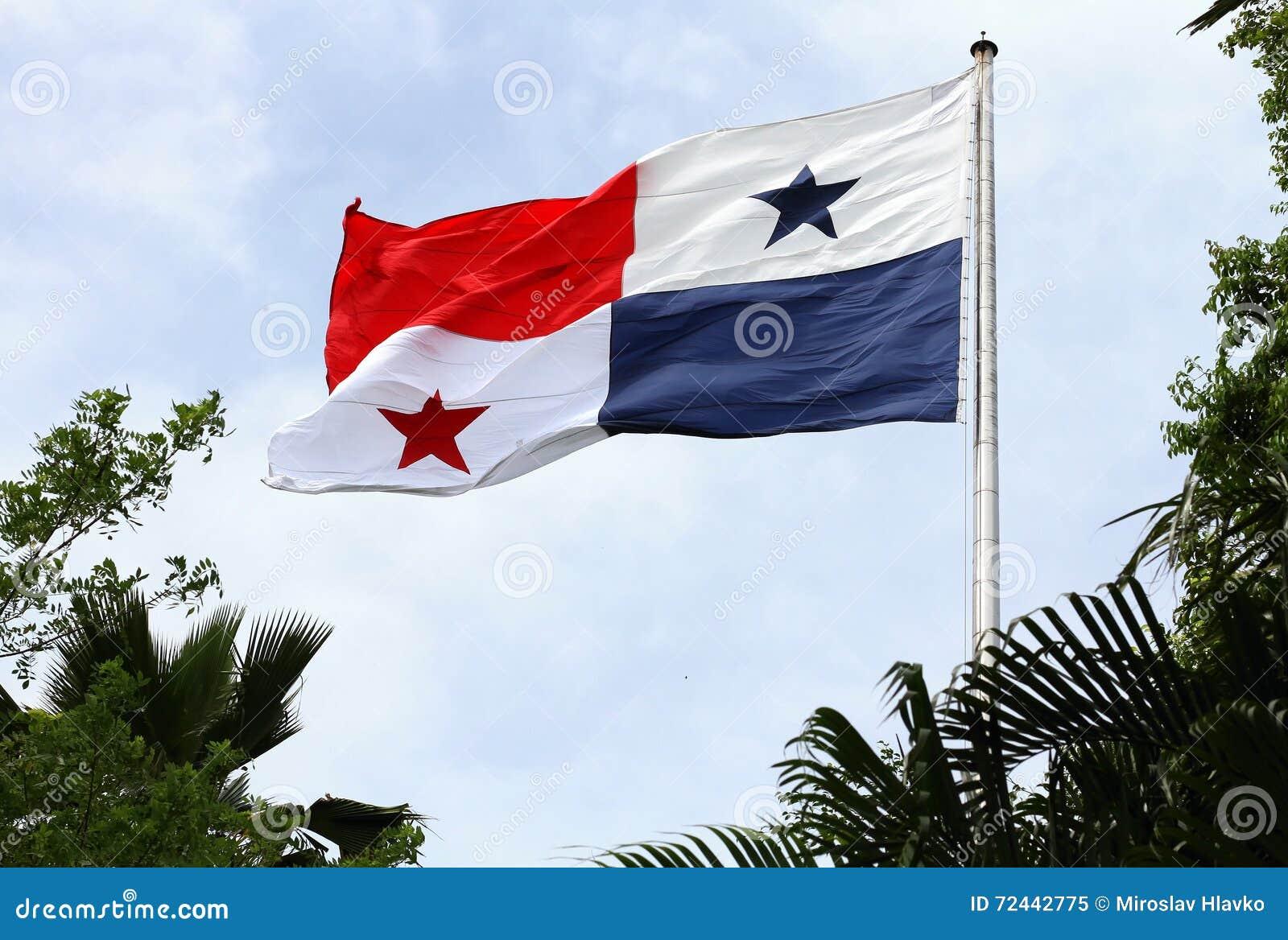 Ondulation de drapeau du Panama
