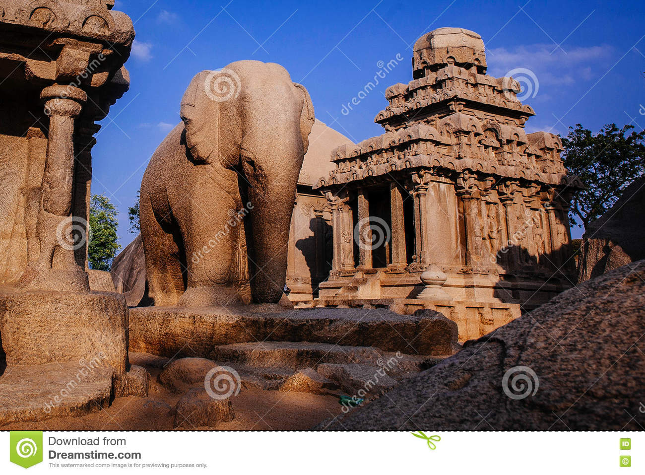 One Of The Ancient Architectural Wonders Of The Pallava