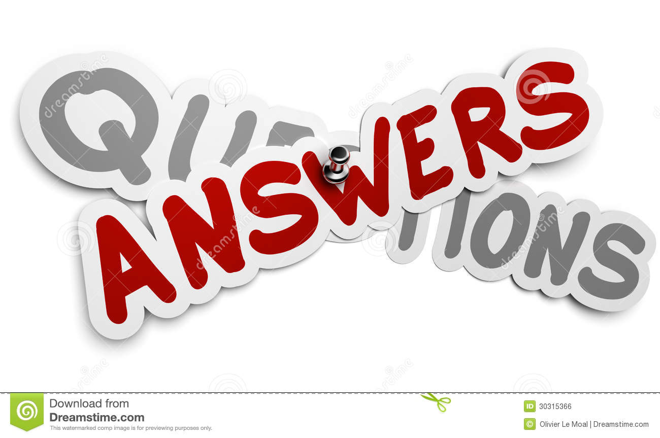 answers clipart - photo #9