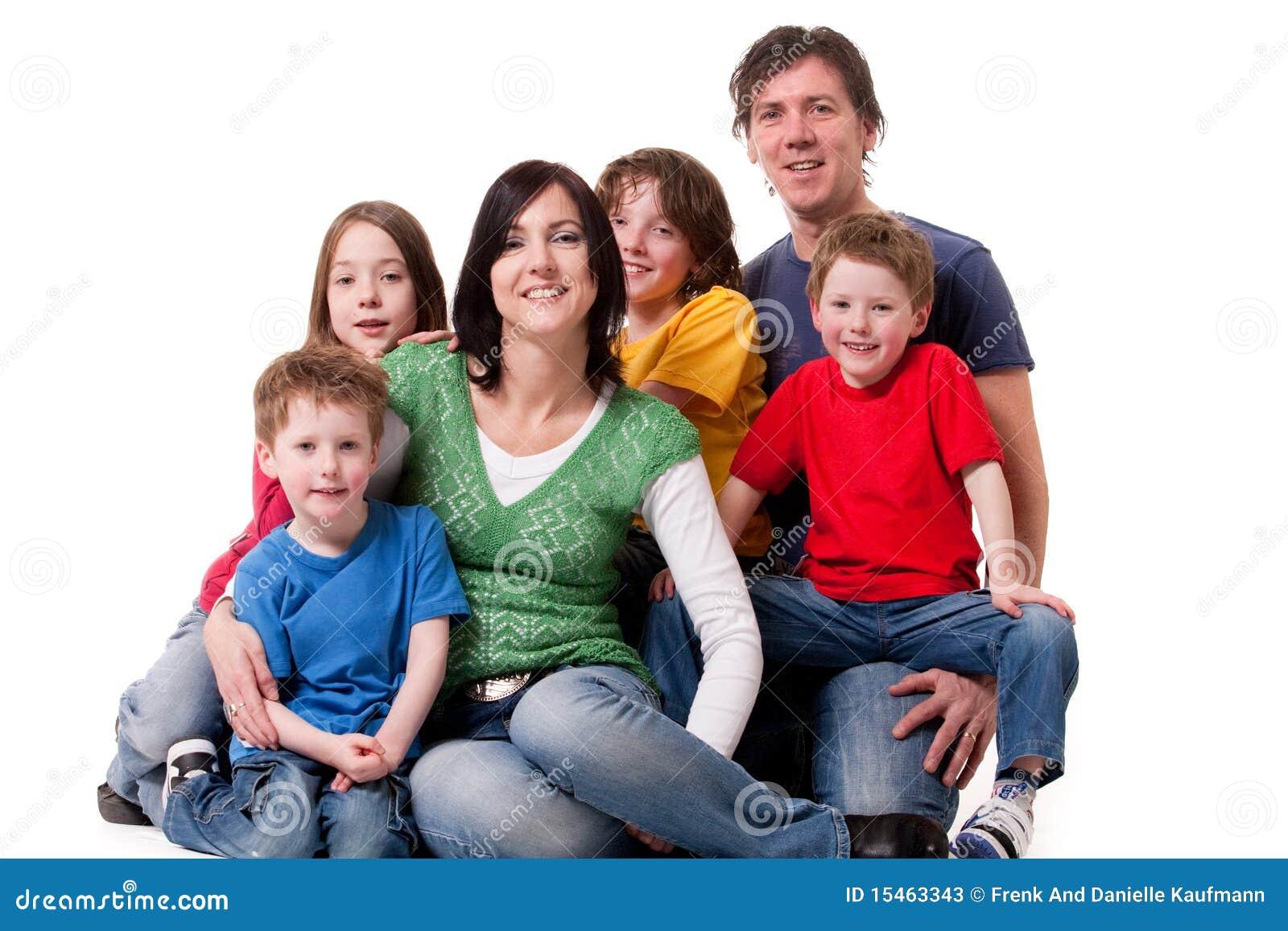 One Big Family Stock Photos Image 15463343