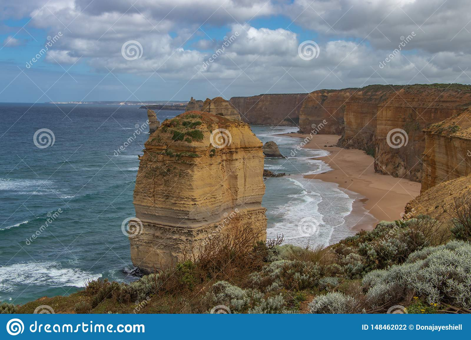 Lone Apostle along Great Ocean Road, Australia