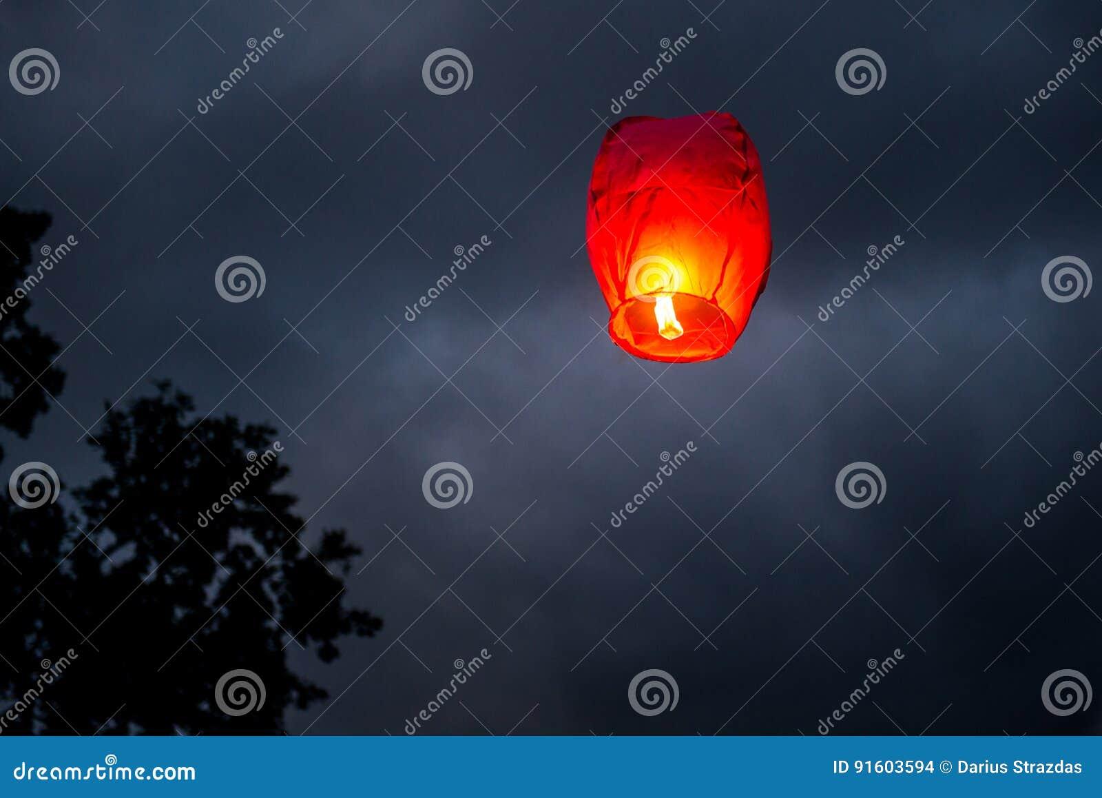 One Chinese Lantern
