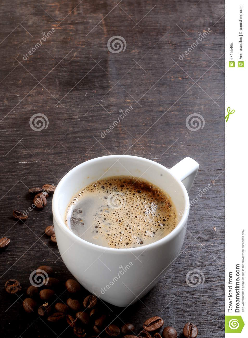 What Coffee Maker Makes The Hottest Cup Of Coffee : One Cup Of Hot Coffee Fresh Make Stock Photo - Image: 58155465