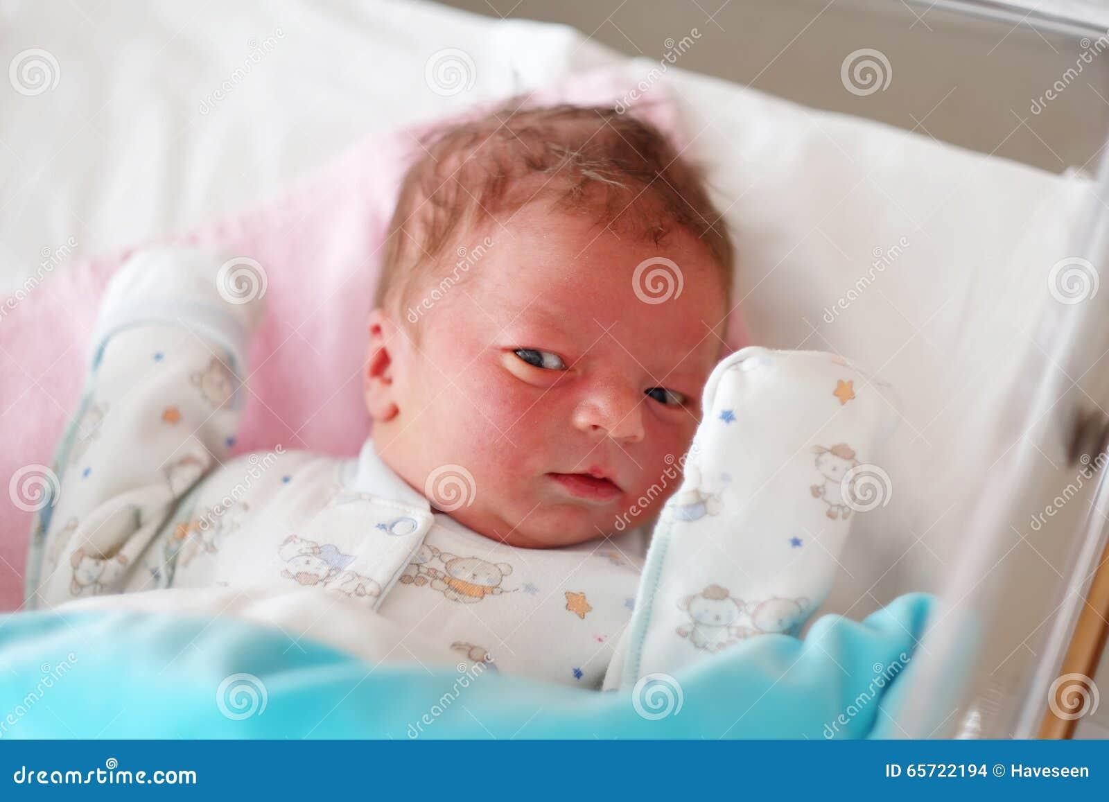 One Day Old Newborn Baby