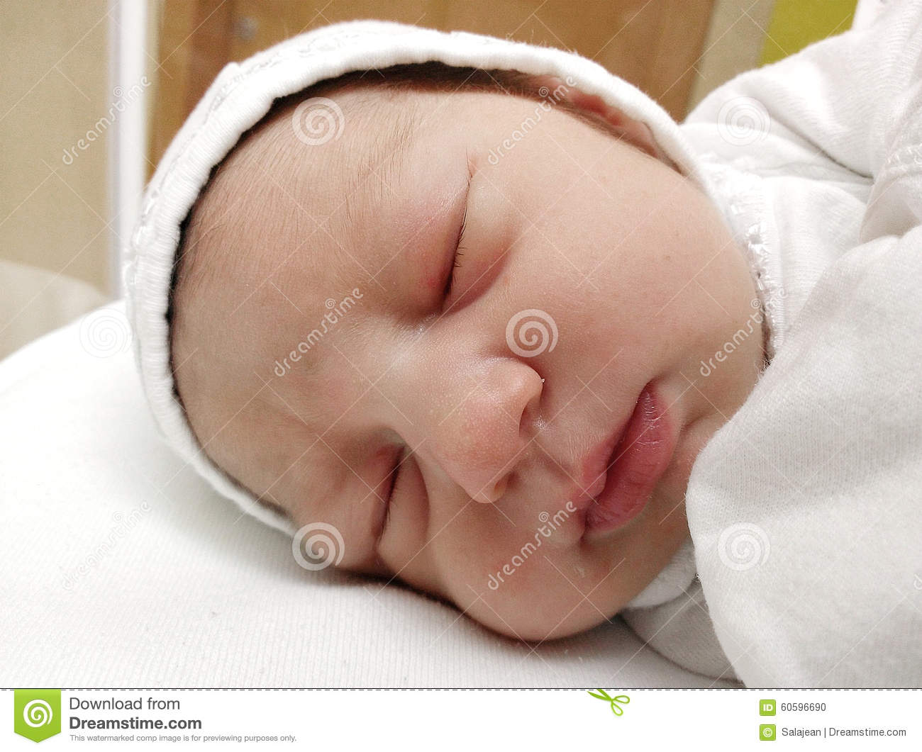 One day old newborn baby