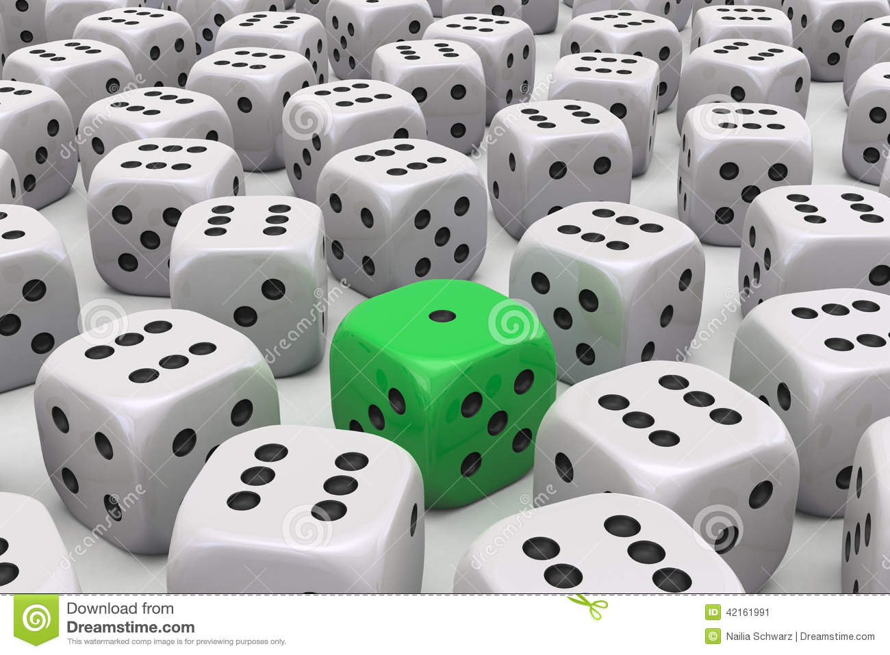 One Die is different