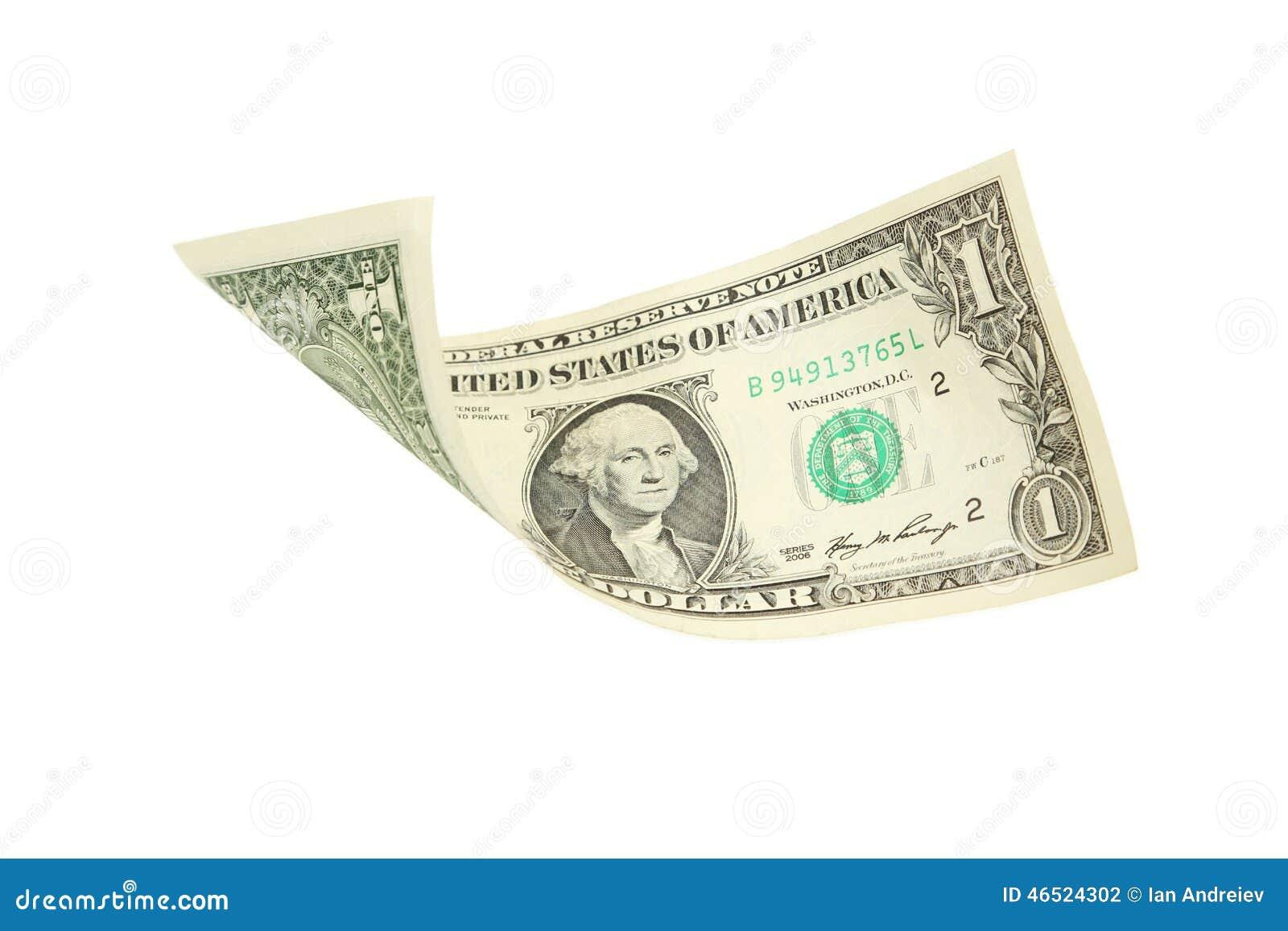 dollar bills falling on - photo #5