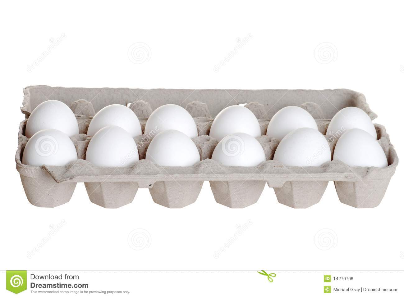 One Dozen Eggs Royalty Free Stock Image - Image: 14270706