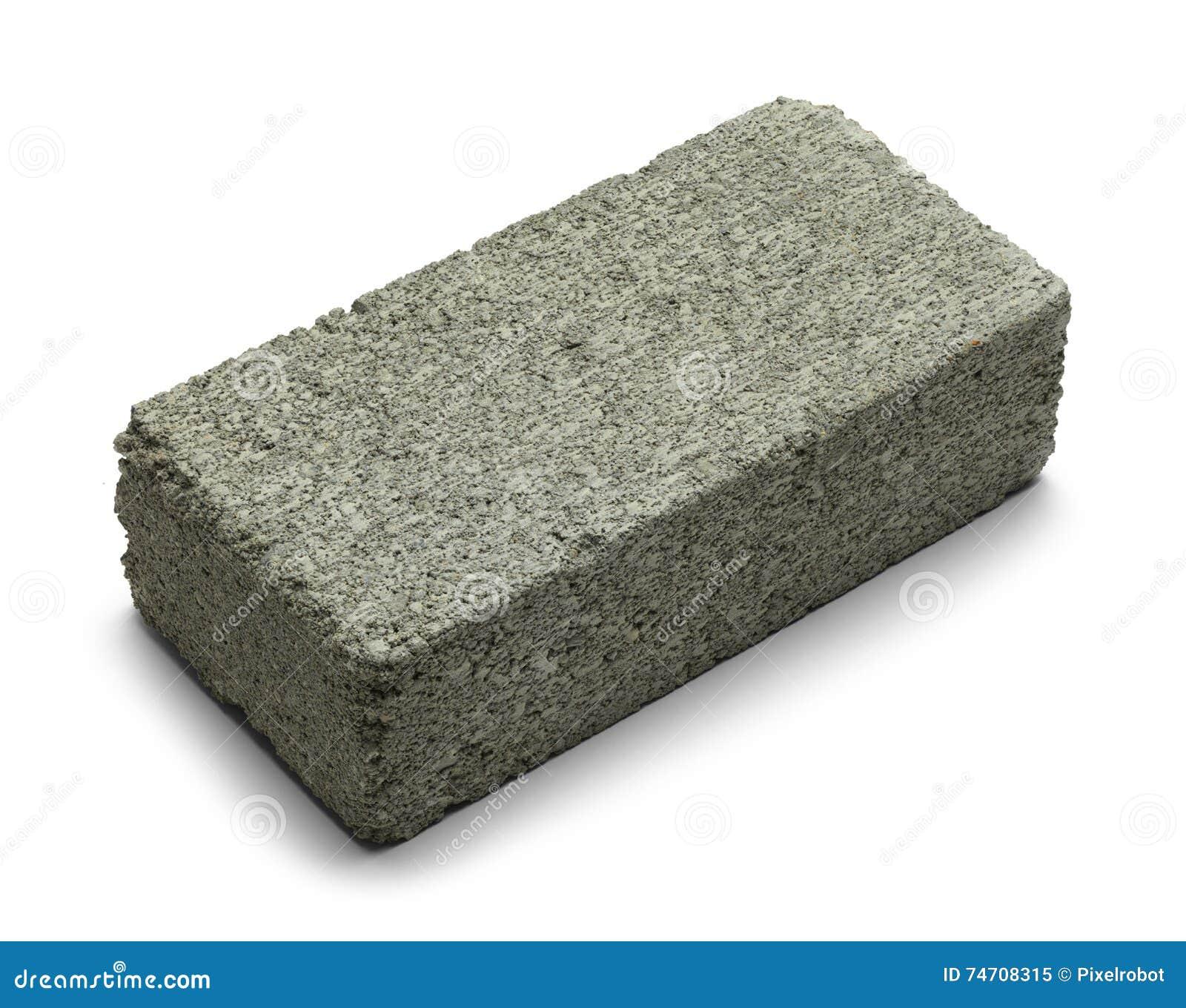One Grey Brick Stock Image Of Layered Concrete