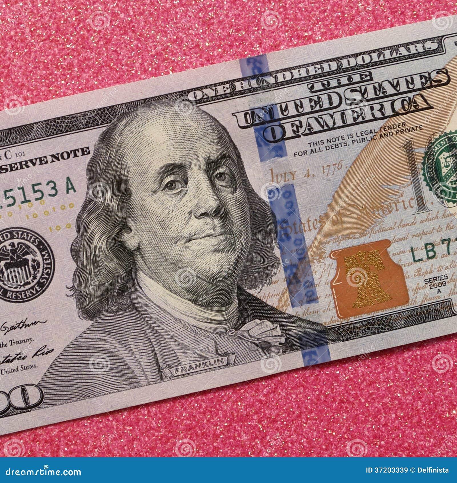 One Hundred Dollars 100 Dollar Bill Stock Photos Stock Image