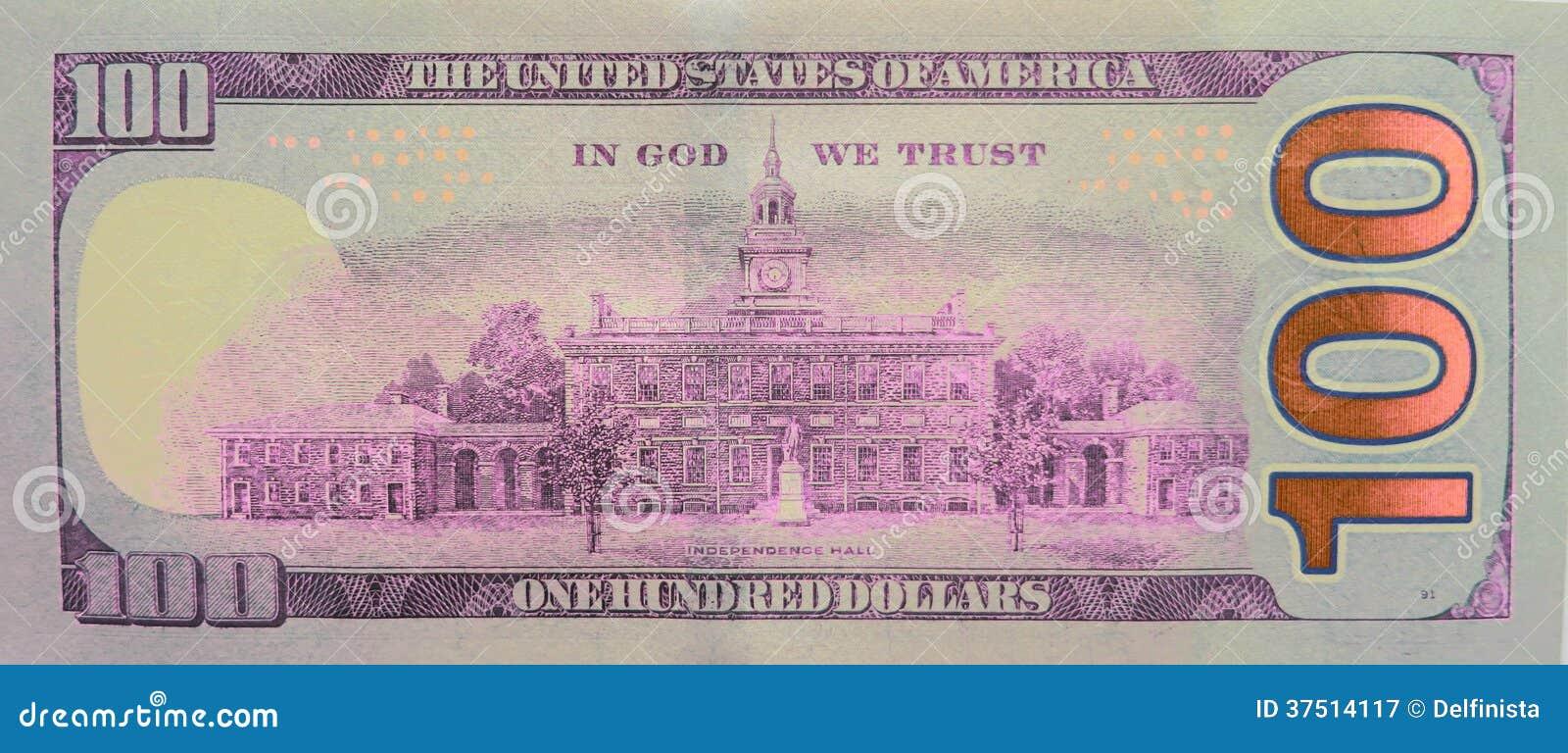 One Hundred Dollars 100 Dollar Bill Stock Photos Royalty Free Stock Photography Image 37514117