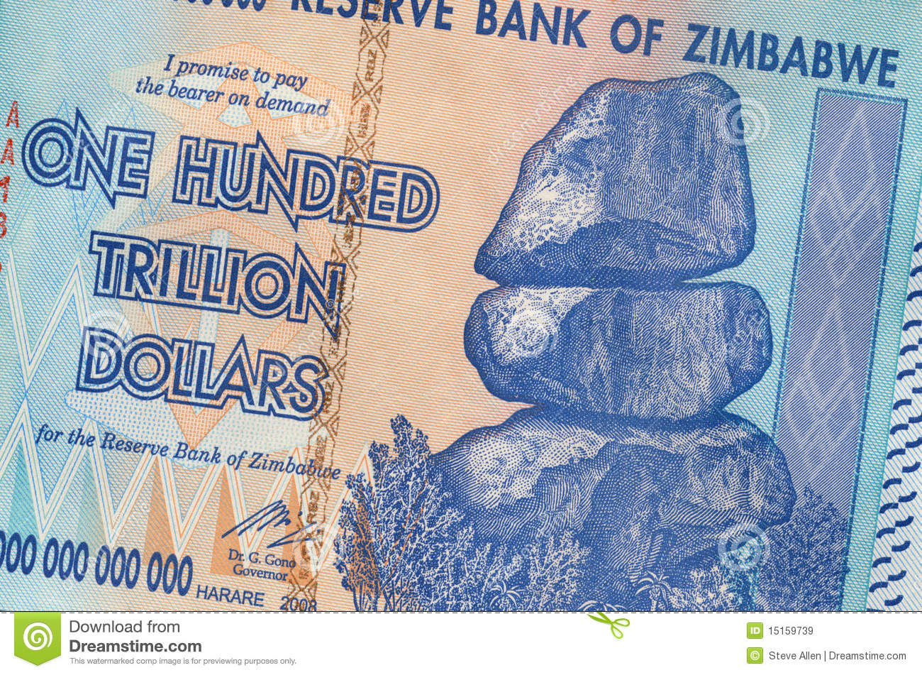 Zimbabwe's Hyperinflation: The Correct Number Is 89 Sextillion Percent