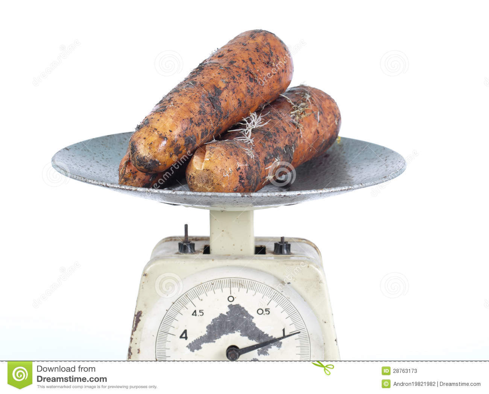 One Kilogram Of Carrot Stock Photos Image 28763173