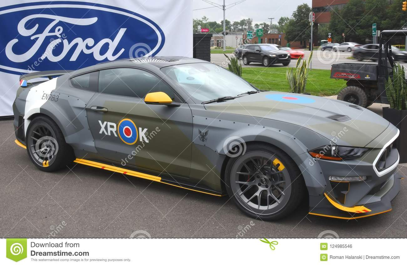 One Of A Kind Mustang Auctioned Off For 420000 Editorial