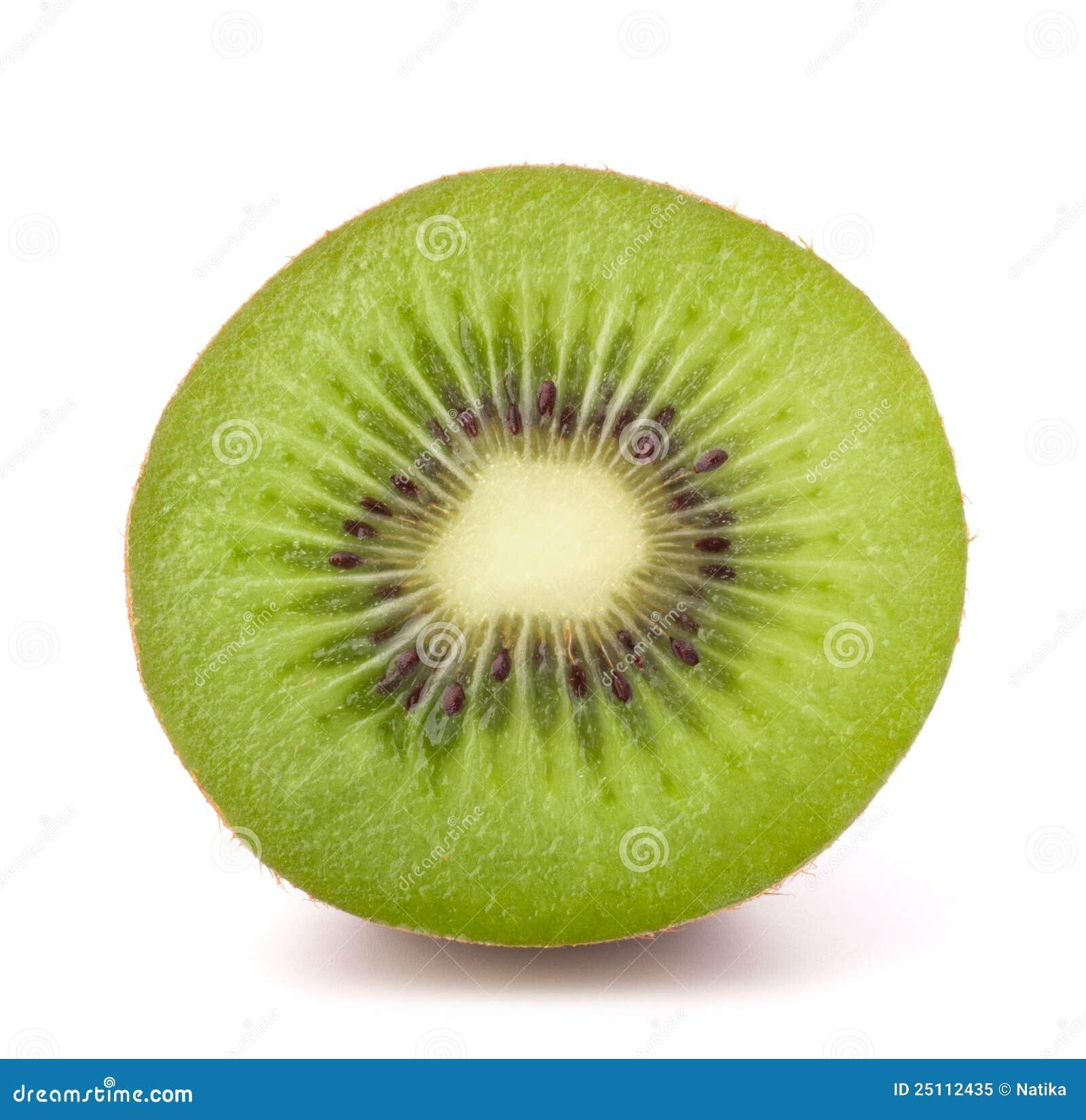 One kiwi fruit half stock image. Image of lifestyle, ripe ...
