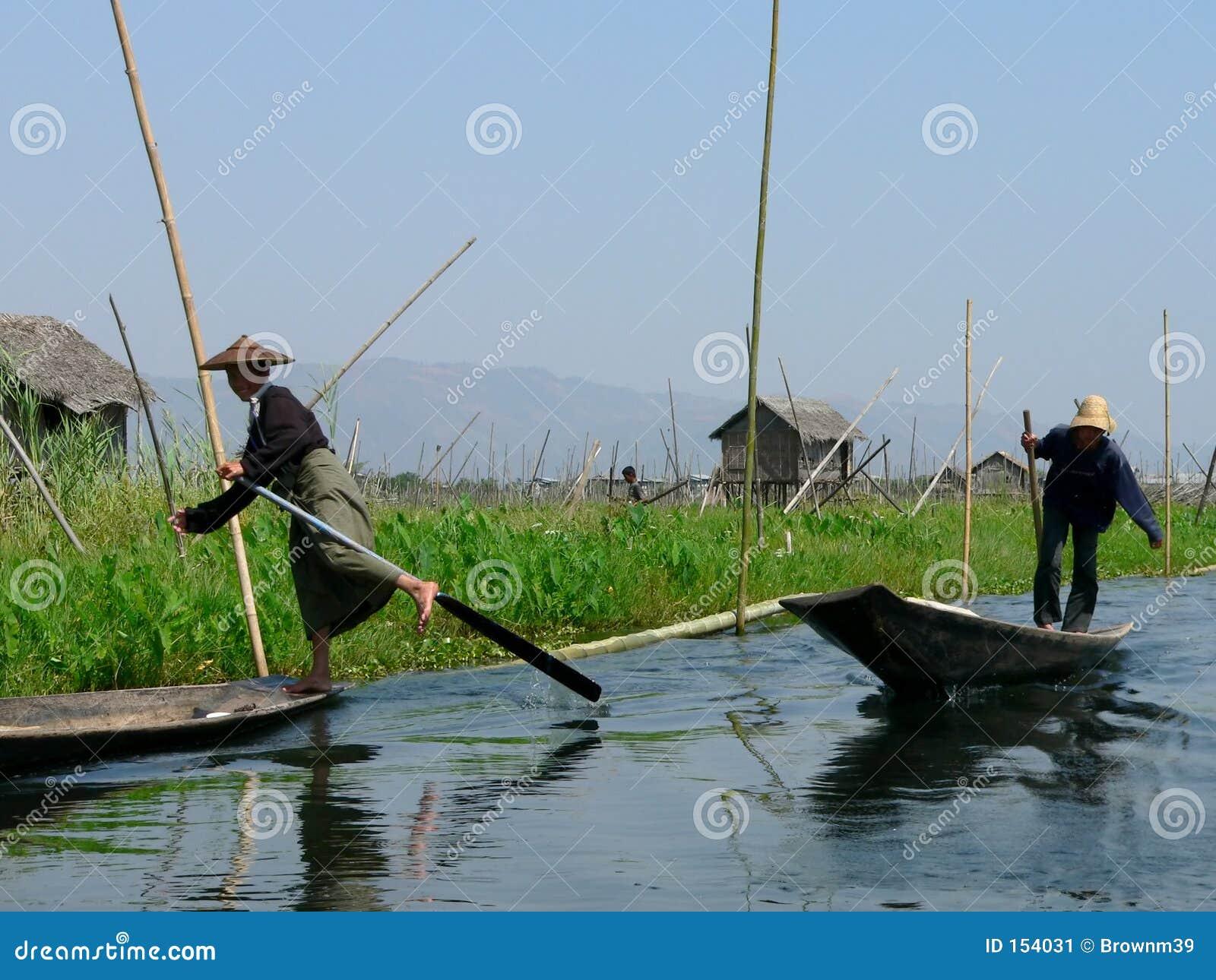 One Leg Boat Rower