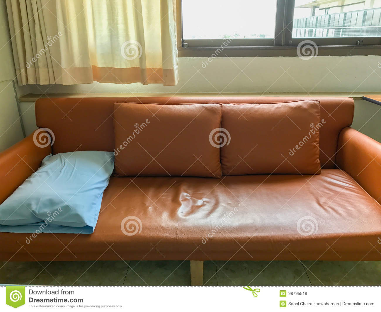 Outstanding One Light Blue Sofa Pillow And Two Orange Pillow On Sofa In Andrewgaddart Wooden Chair Designs For Living Room Andrewgaddartcom