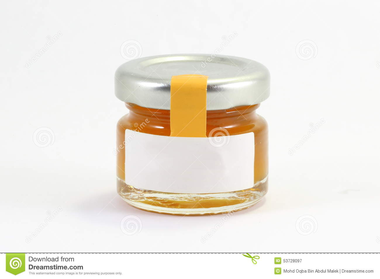 one little glass jar wit lit stock image image of pickle honey