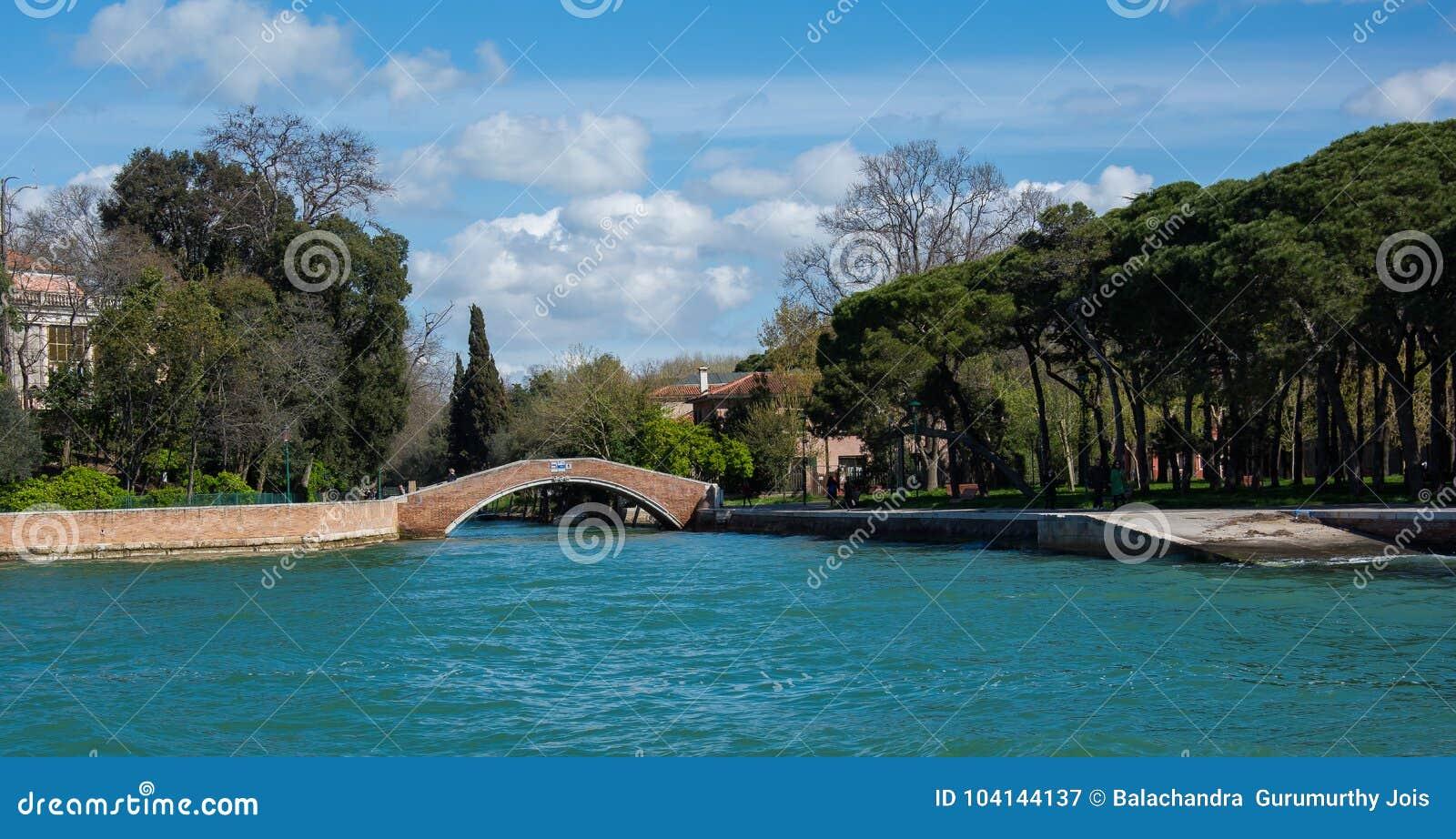 One of many bridge at venice italy