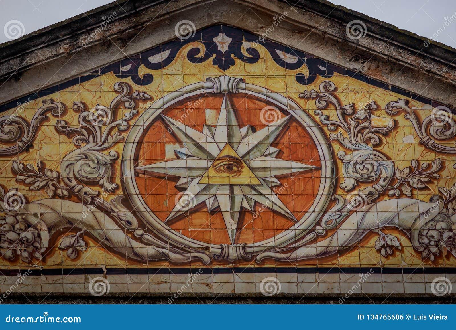 Eye of providence, freemasonry
