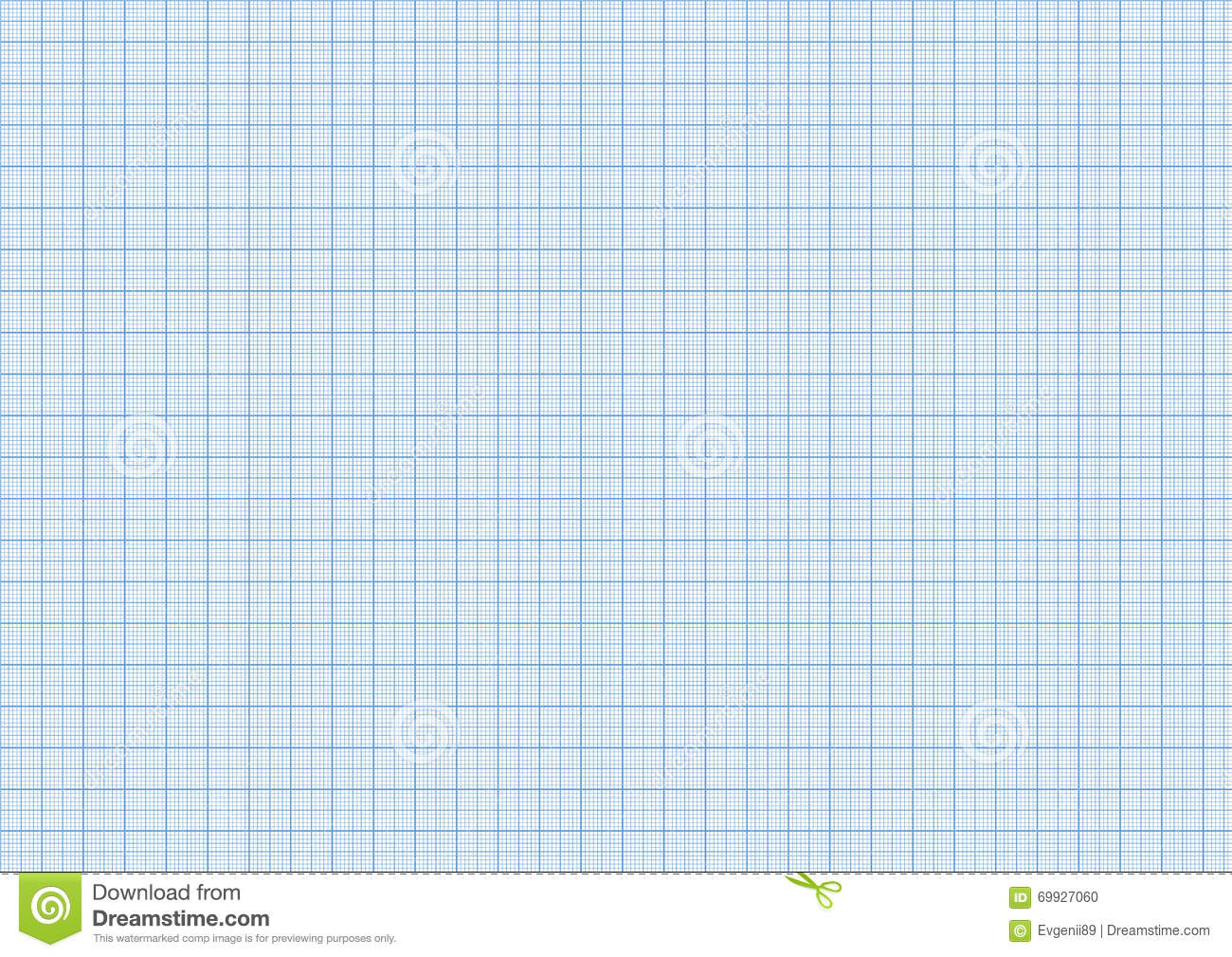 one millimeter graph paper cyan color on a4 size