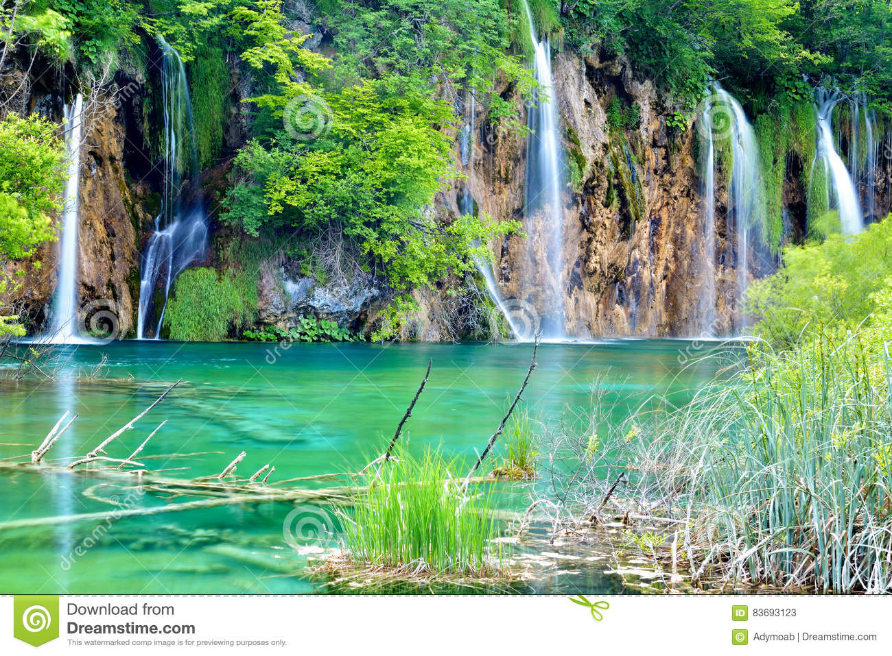 One Of The Most Beautiful Places In The World Plitvice Croatia Stock Image Image 83693123