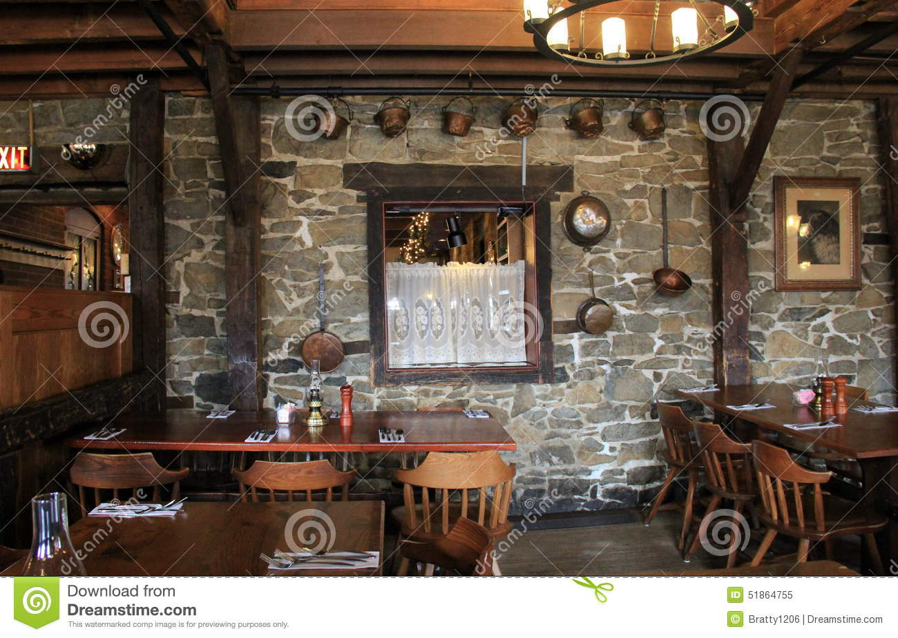 Ordinaire One Of The Old Stone Wall Dining Rooms In The Famous Old Bryan Inn  Restaurant,