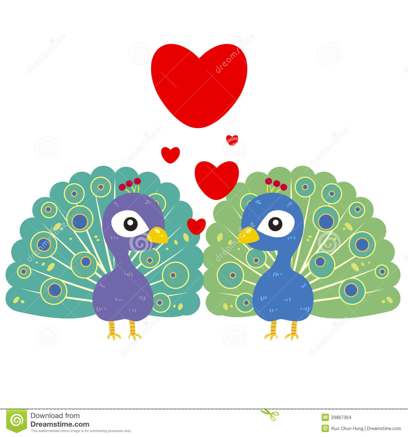 Tea party background royalty free stock photo image 28839215 - One Pair Of Cute Peacocks Stock Images Image
