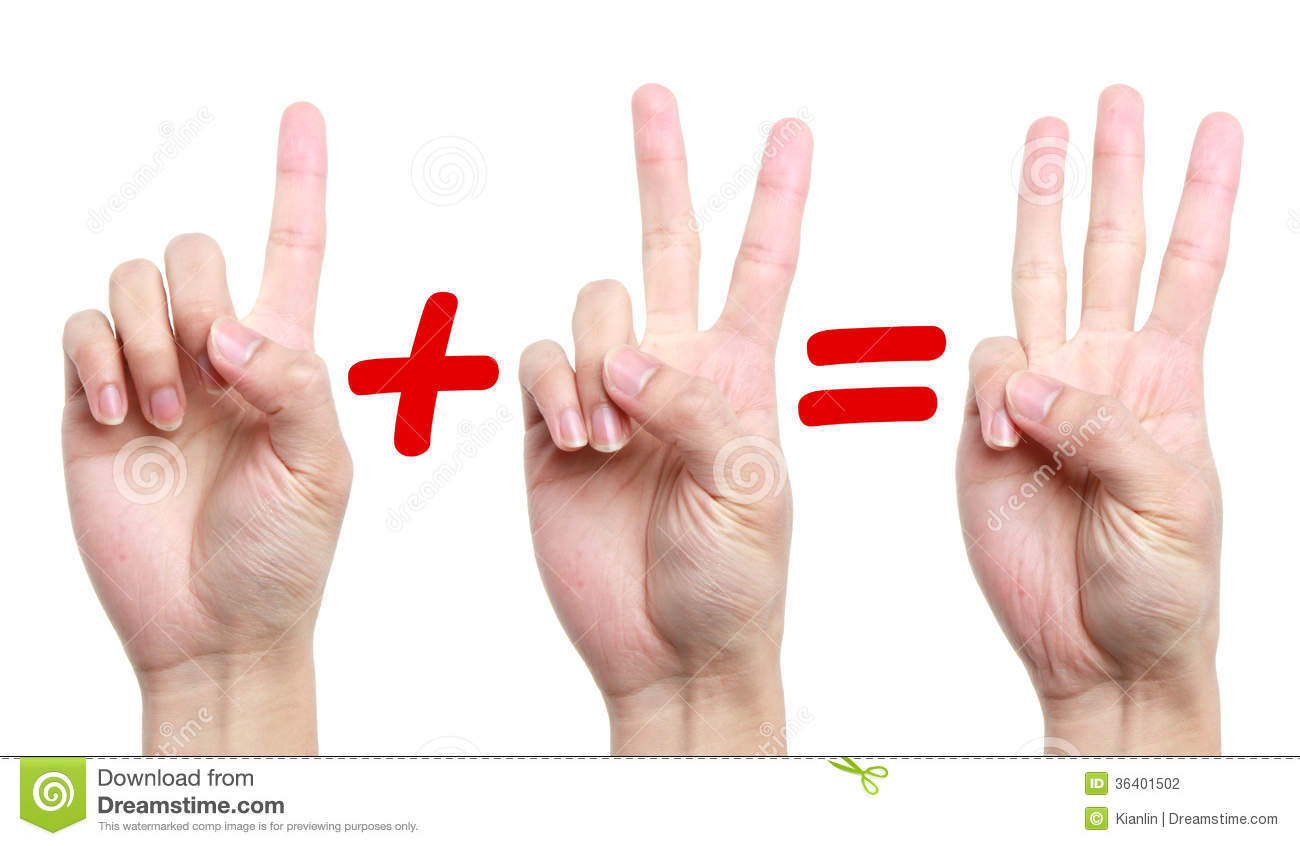2 plus 2 equals the bang out 6